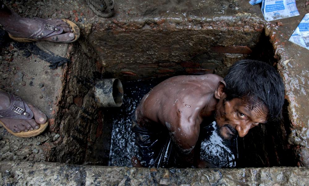 Sewer cleaner Dhaka