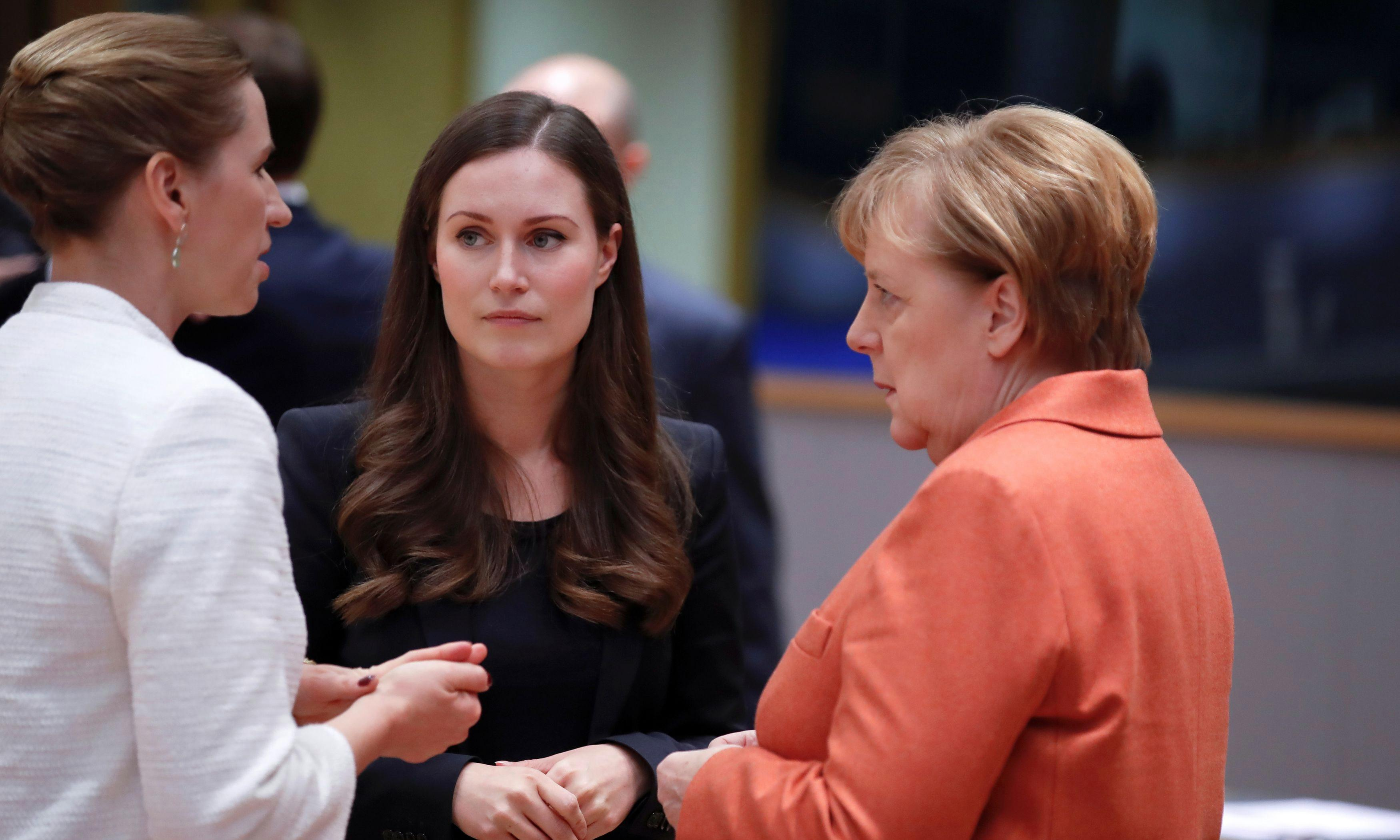 World's youngest PM brushes aside media furore at EU debut