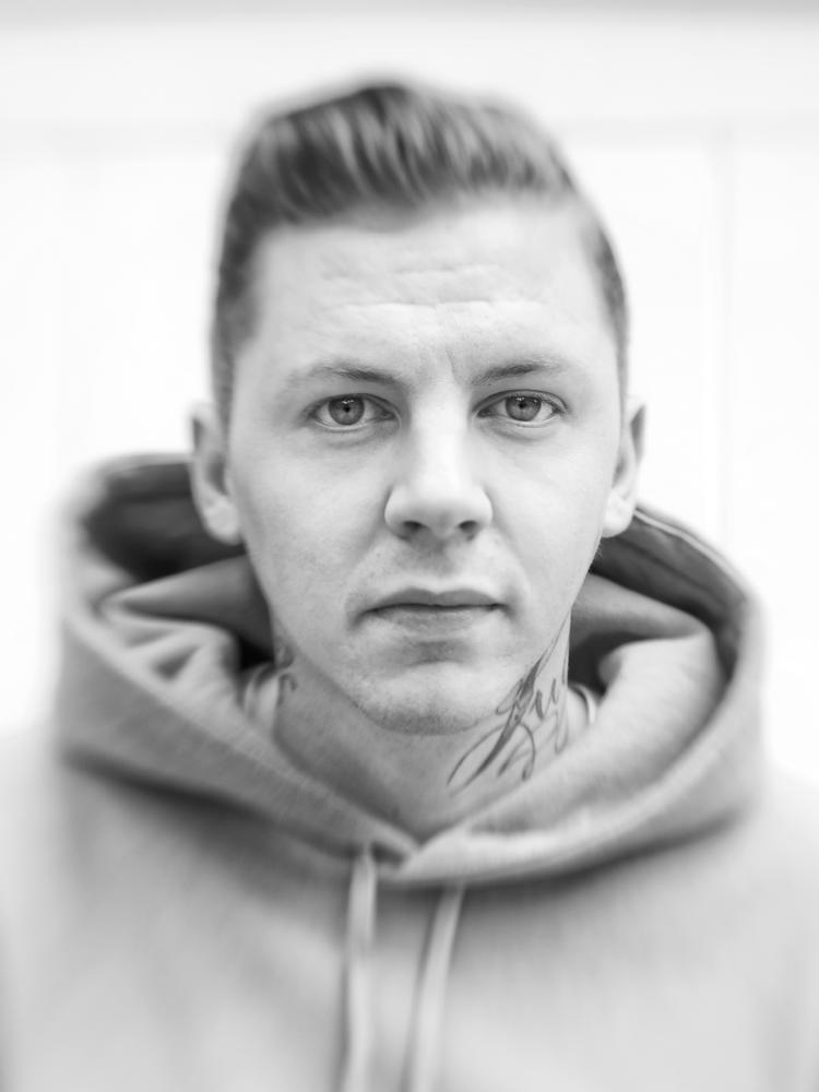 Portrait of Professor Green, by Scarlet Page, for the Alpha project