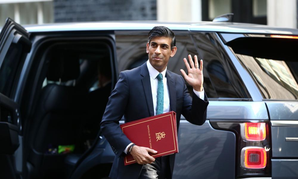 Rishi Sunak at Downing Street