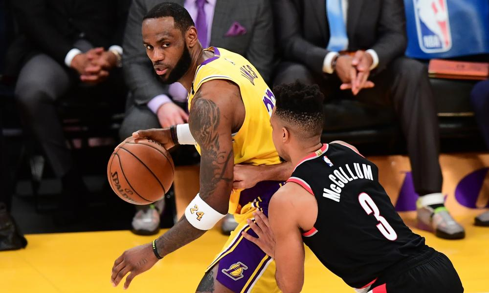 LeBron James and his fellow NBA players are set to resume action at the end of July
