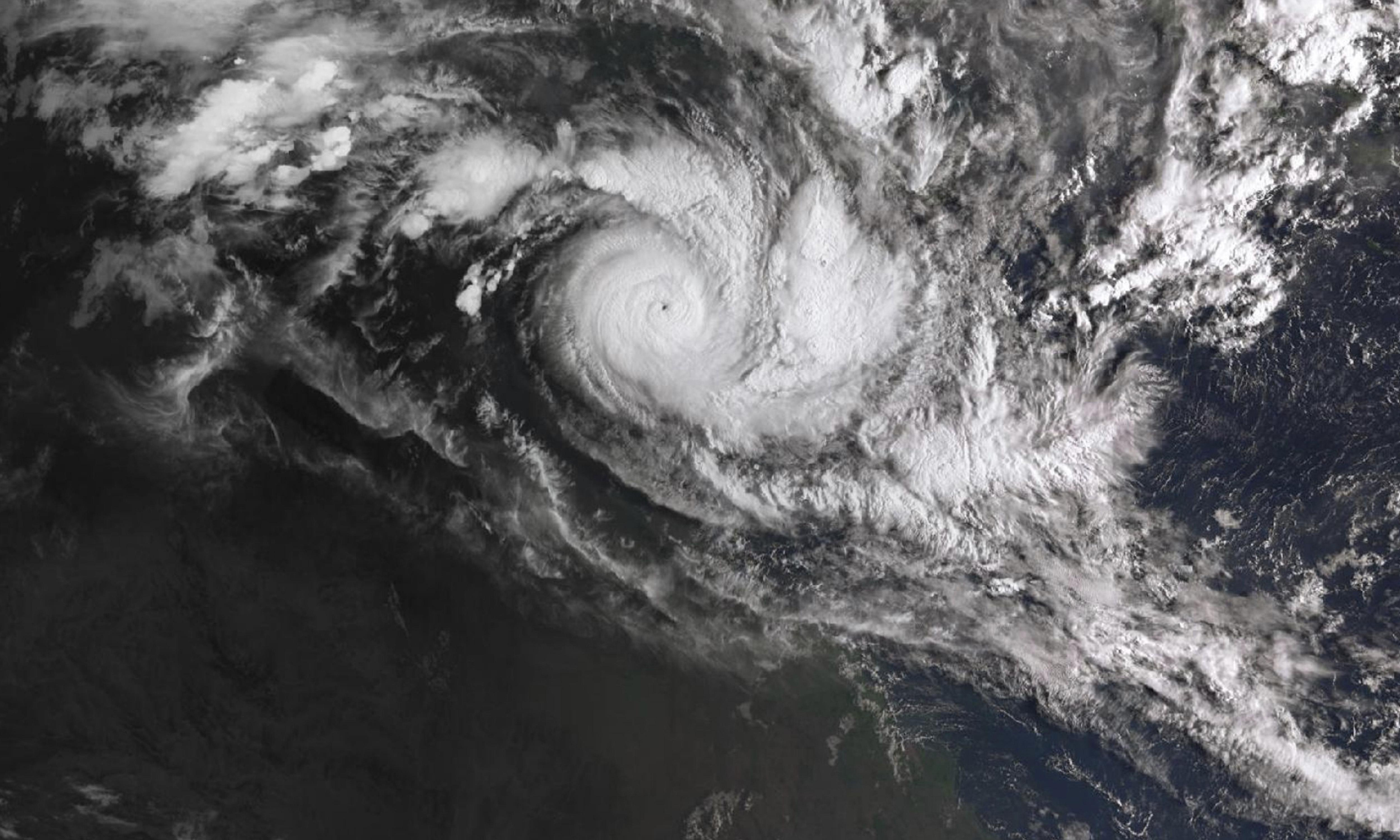 Twin cyclones force largest evacuation since Cyclone Tracey in 1974