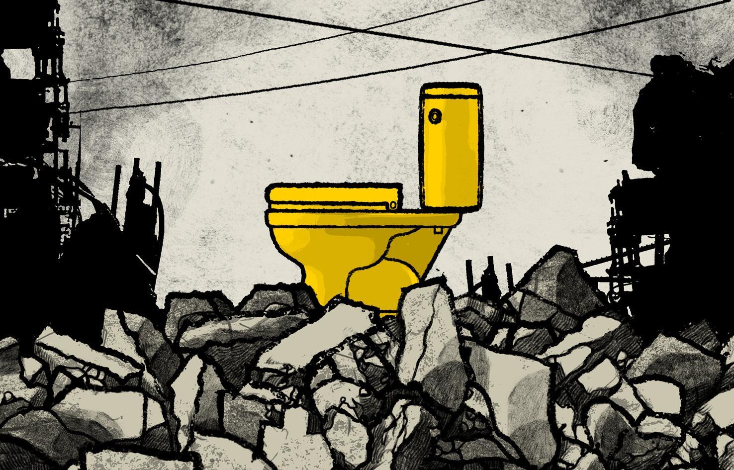 Golden toilets, golden arches. As for David Cameron...