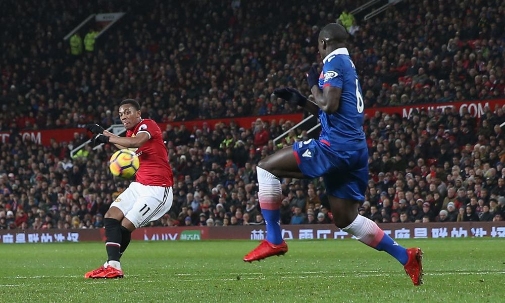 Anthony Martial the second goal