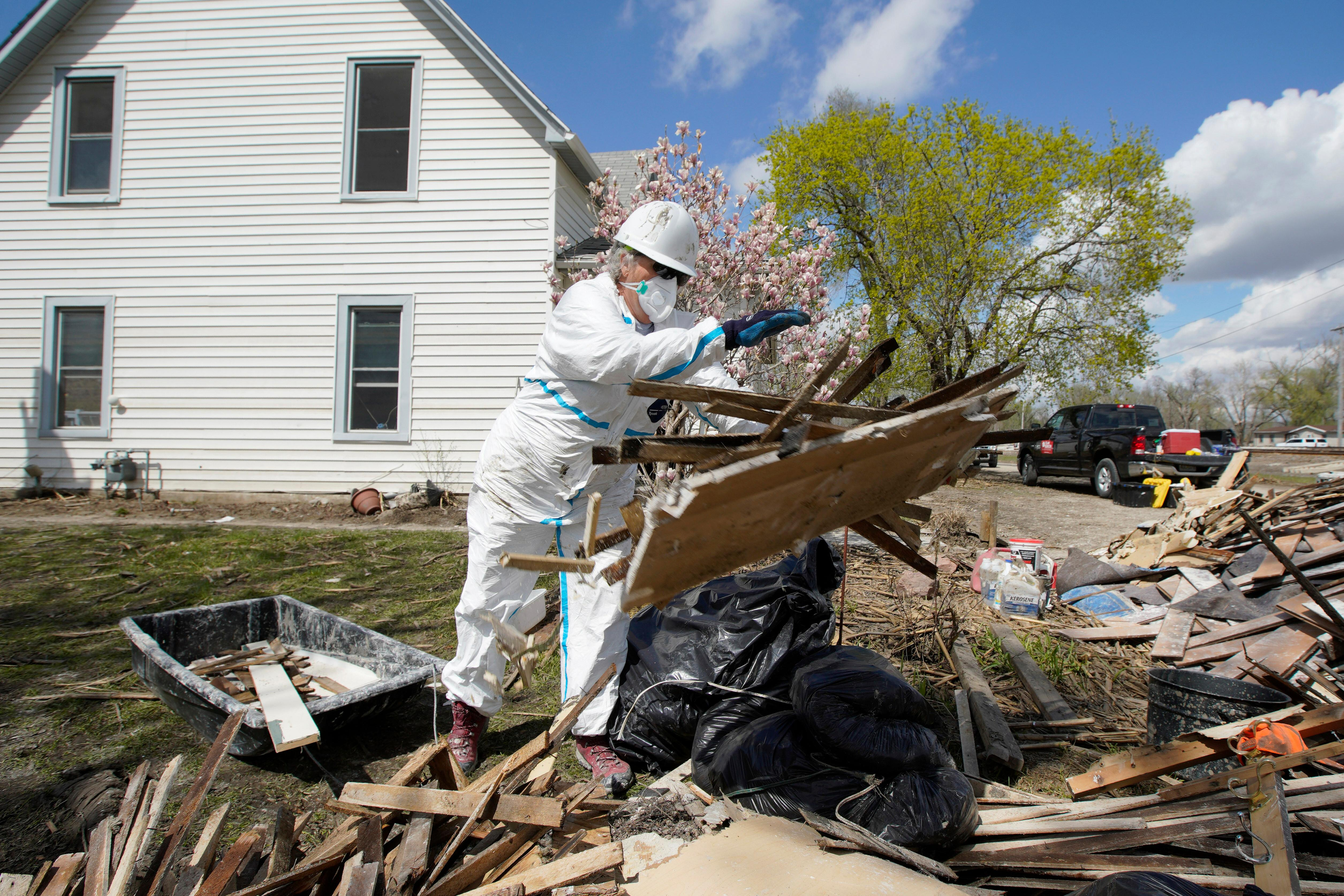 'It has to be dealt with': what's the future for midwest towns affected by climate change?