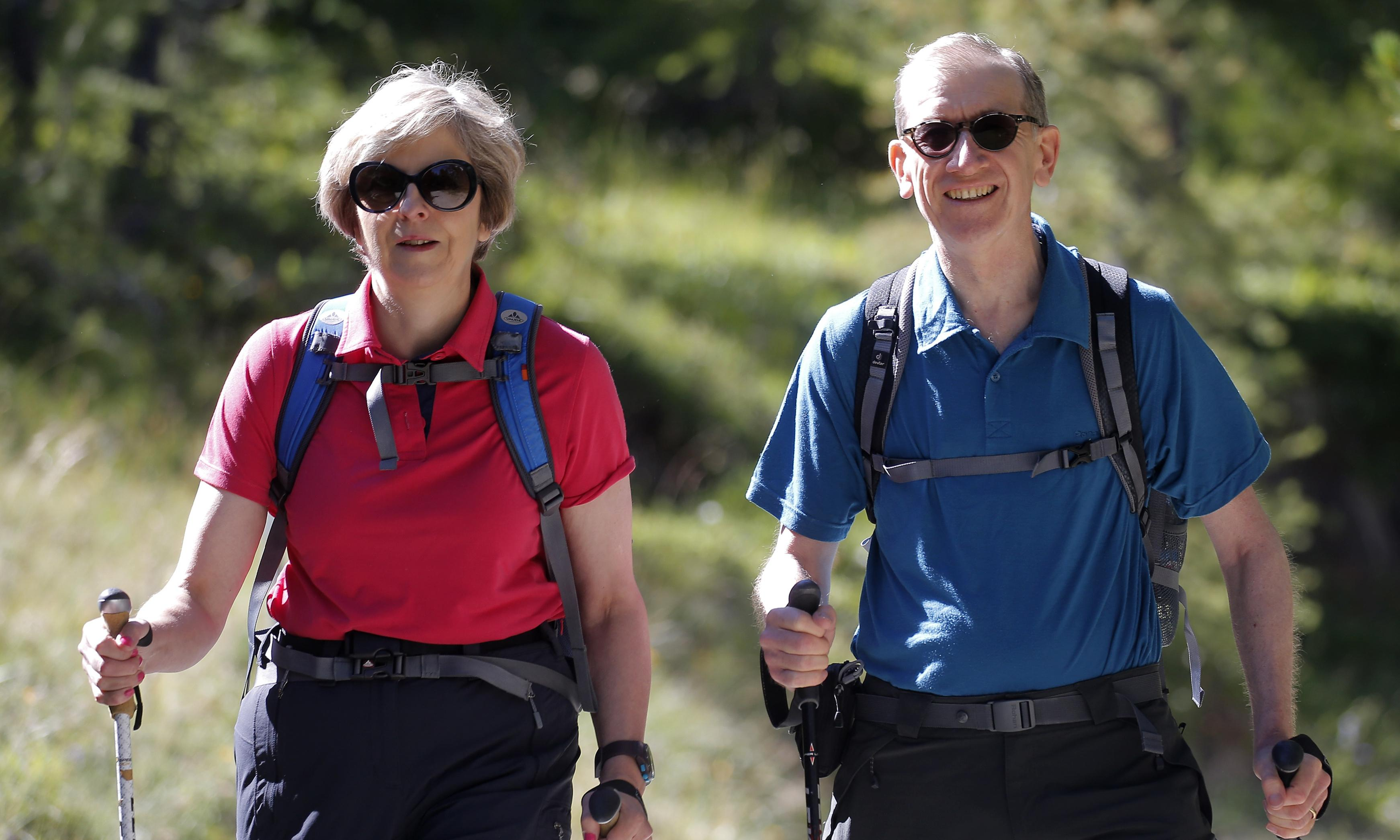 Theresa May: I would rather write Alpine whodunnit than memoir