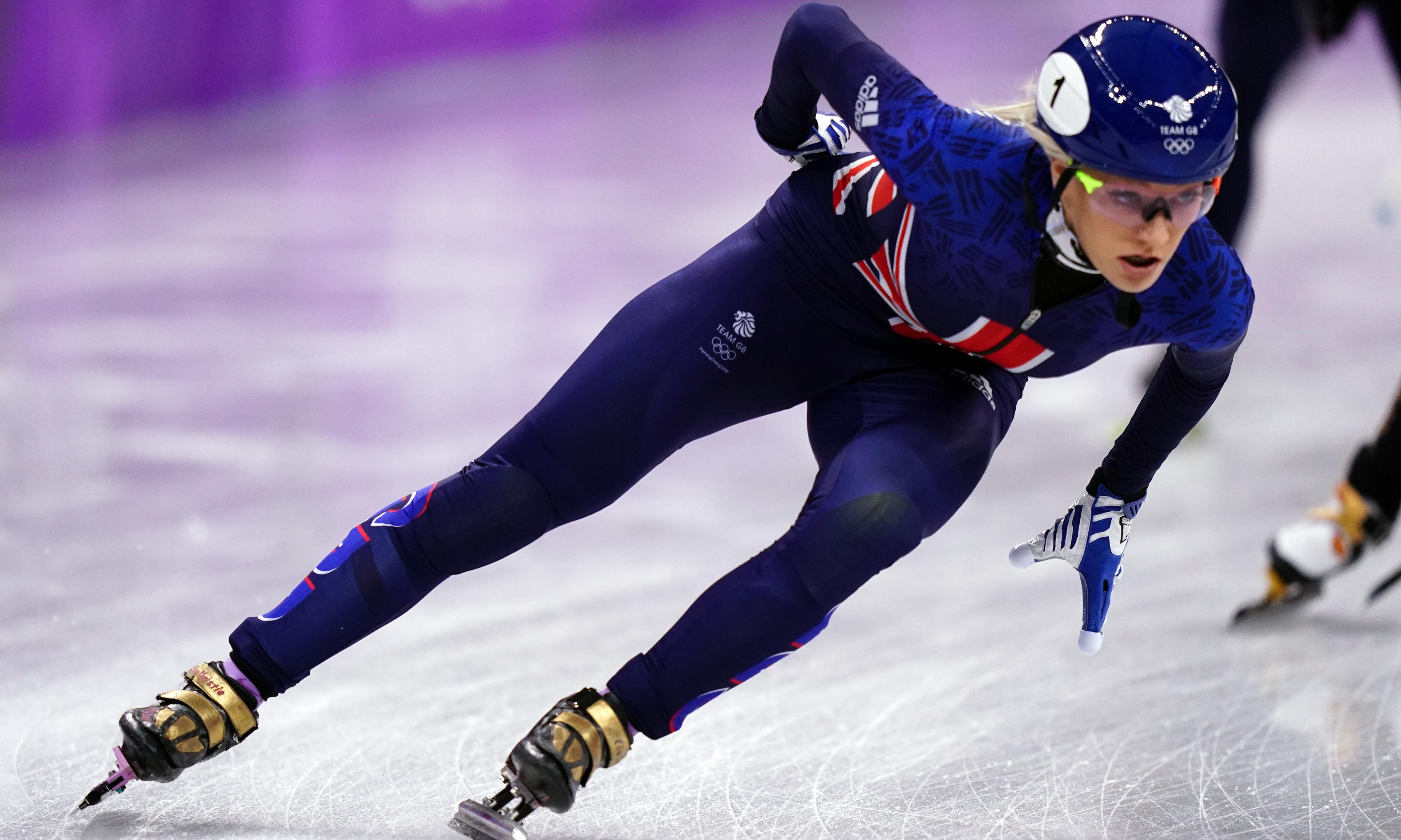 World champion speed skater Elise Christie reveals fight against depression