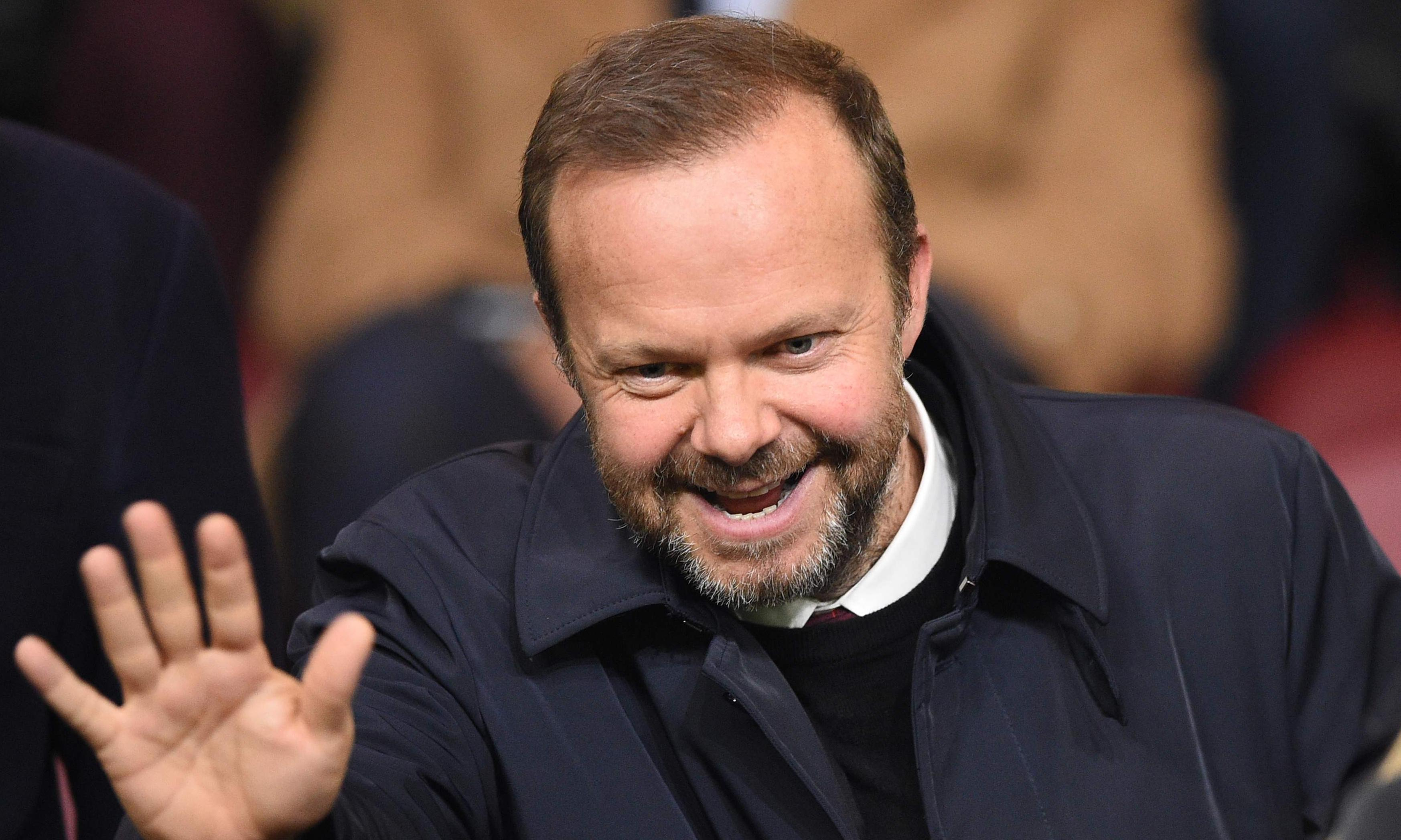 Manchester United's Ed Woodward: admired by Glazers, despised by fans