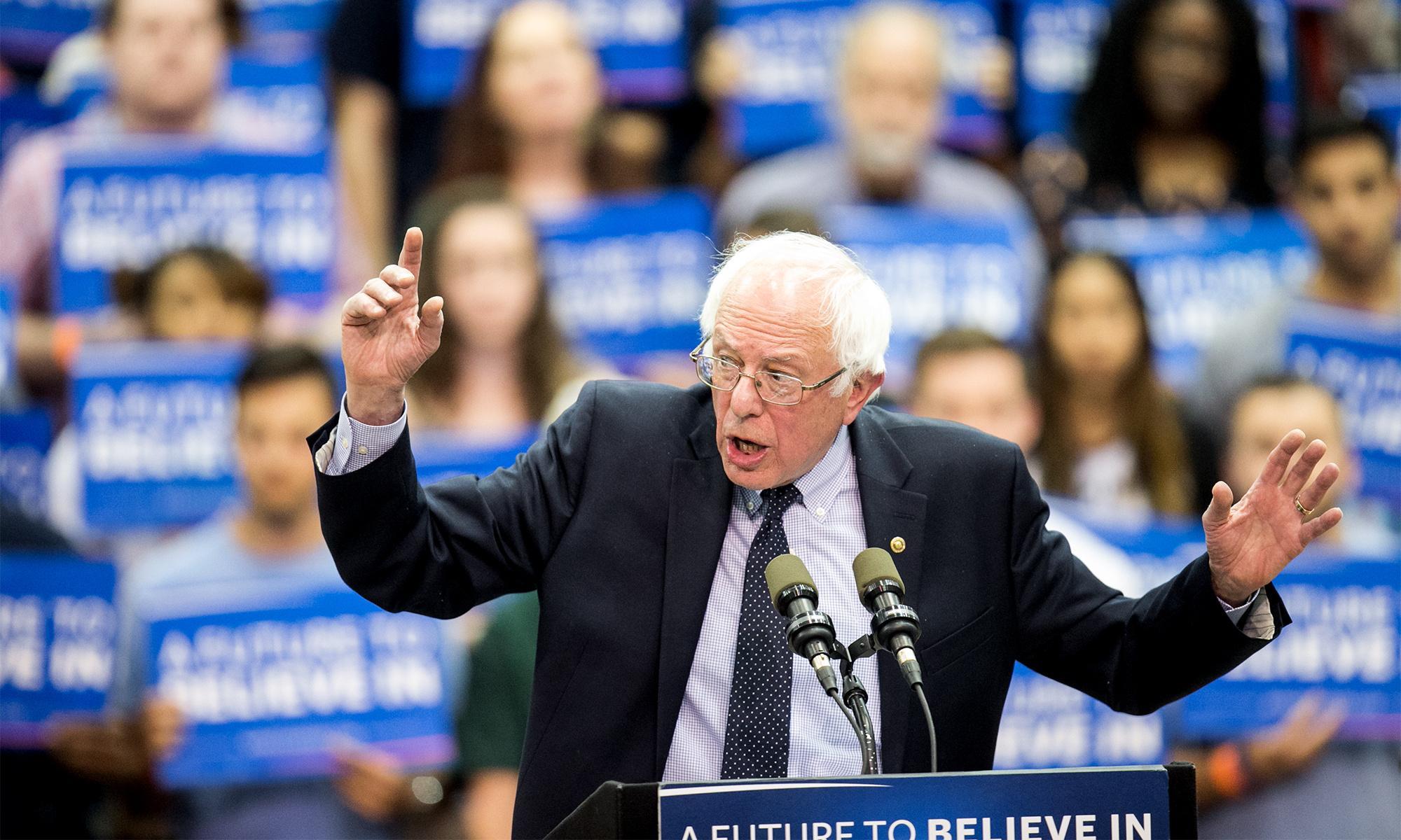 Why Bernie Sanders' radicalism can take out Trump