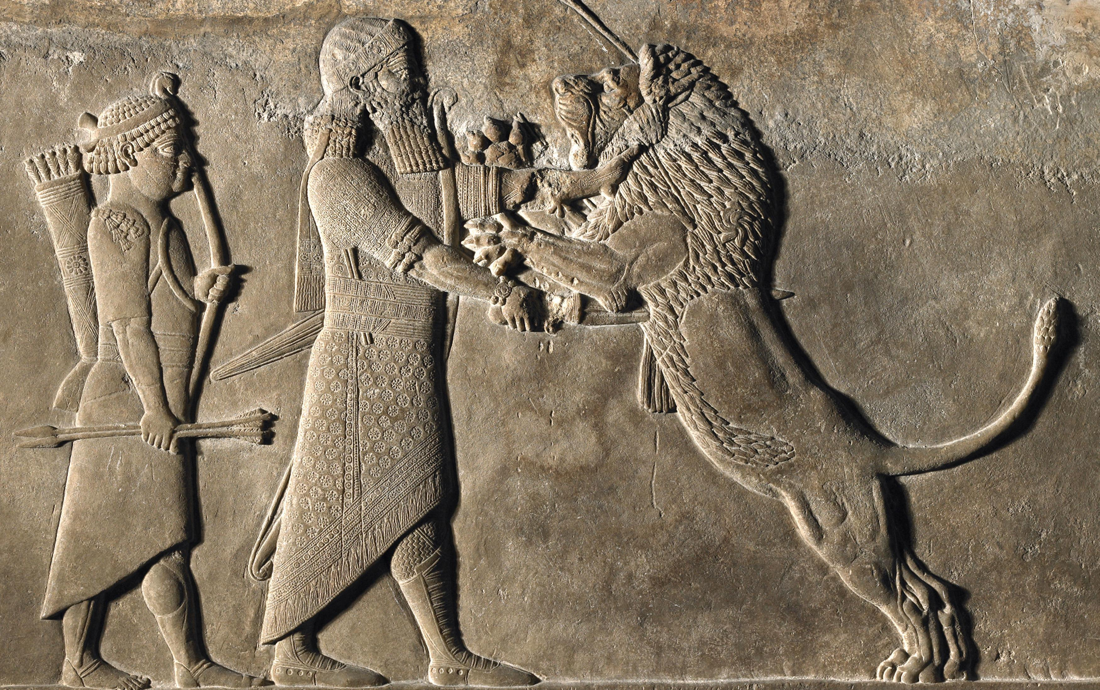 'Some of the most appalling images ever created' – I Am Ashurbanipal review
