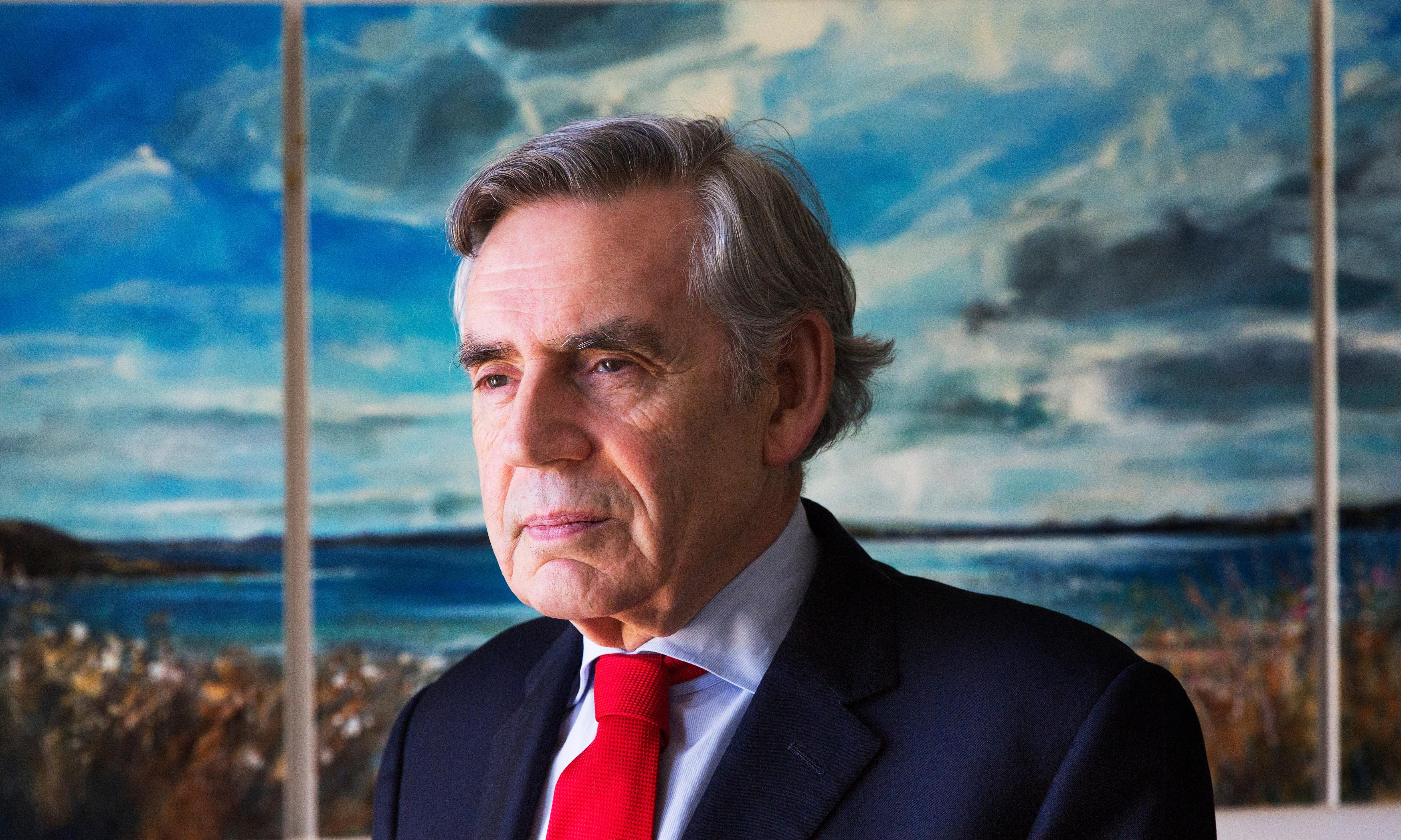 'Constitutional revolution' needed to rescue the union, warns Gordon Brown