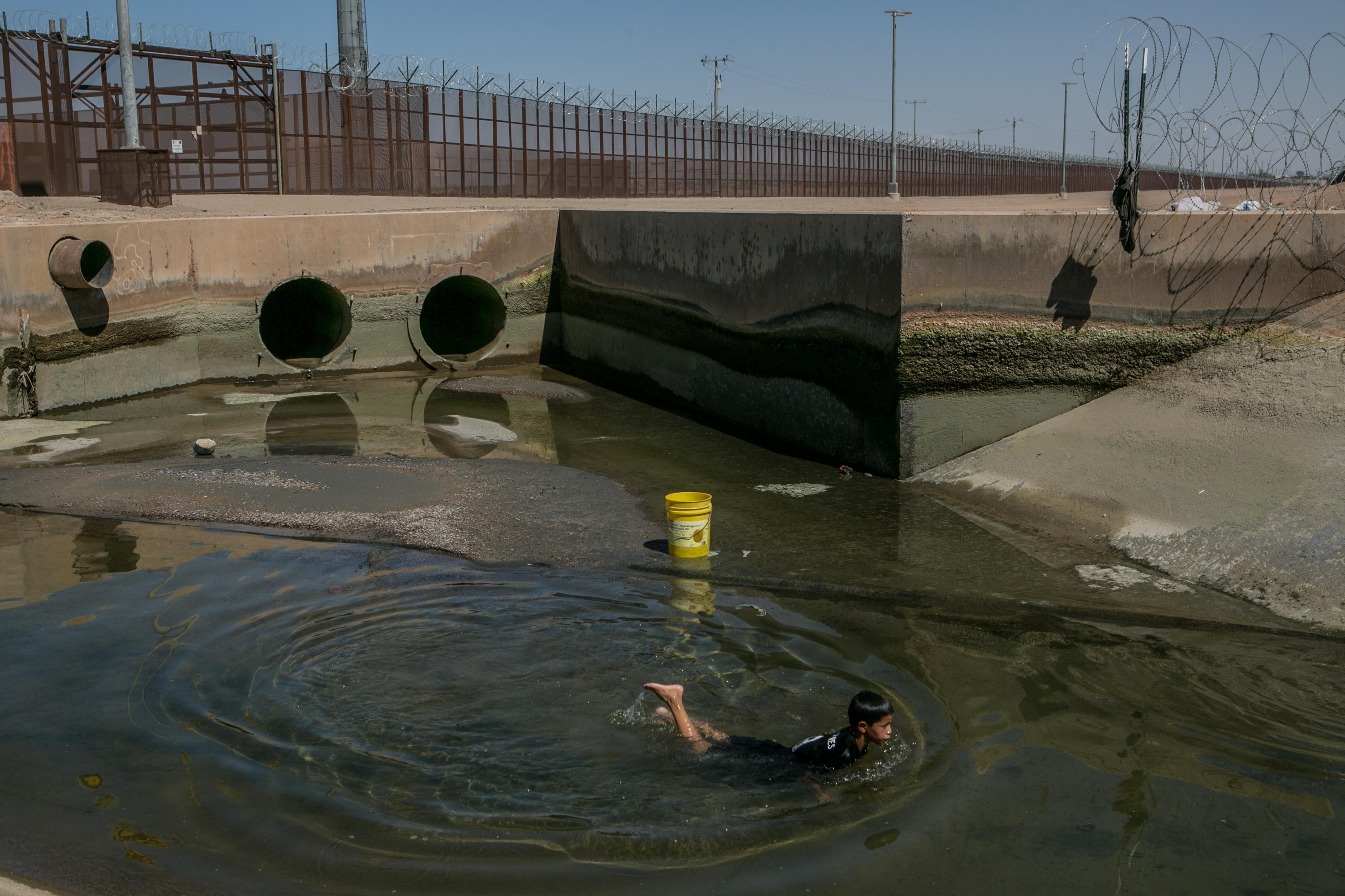 The lost river: Mexicans fight for mighty waterway taken by the US