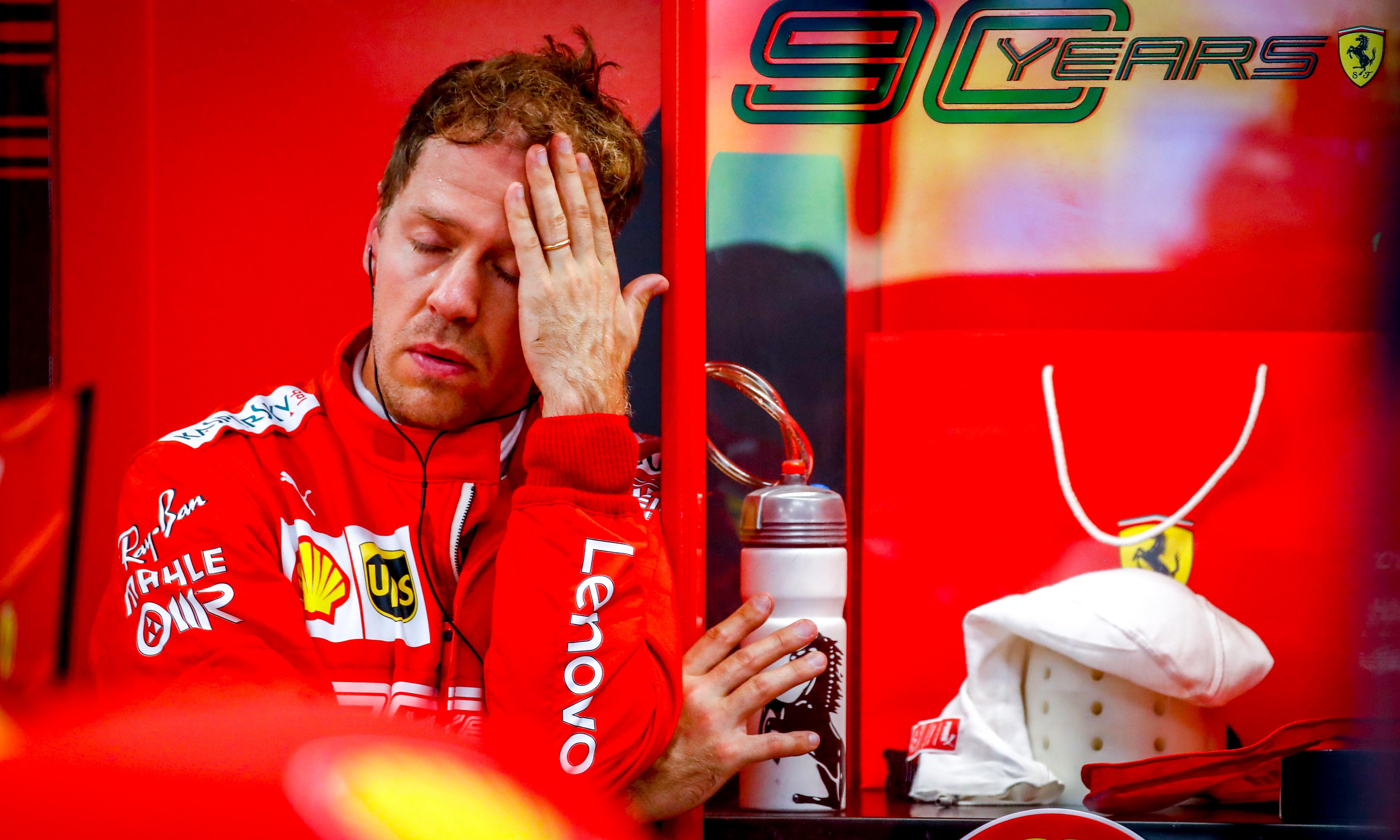Sebastian Vettel adjusting to lower expectations at Singapore GP