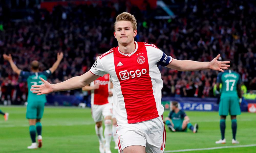 Ajax may yet be grateful for Mino Raiola's part in negotiating a supersize fee for Matthijs de Ligt, their 19-year-old captain.