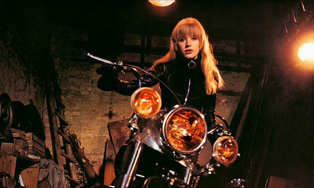 Marianne Faithfull as Rebecca in The Girl on a Motorcycle.