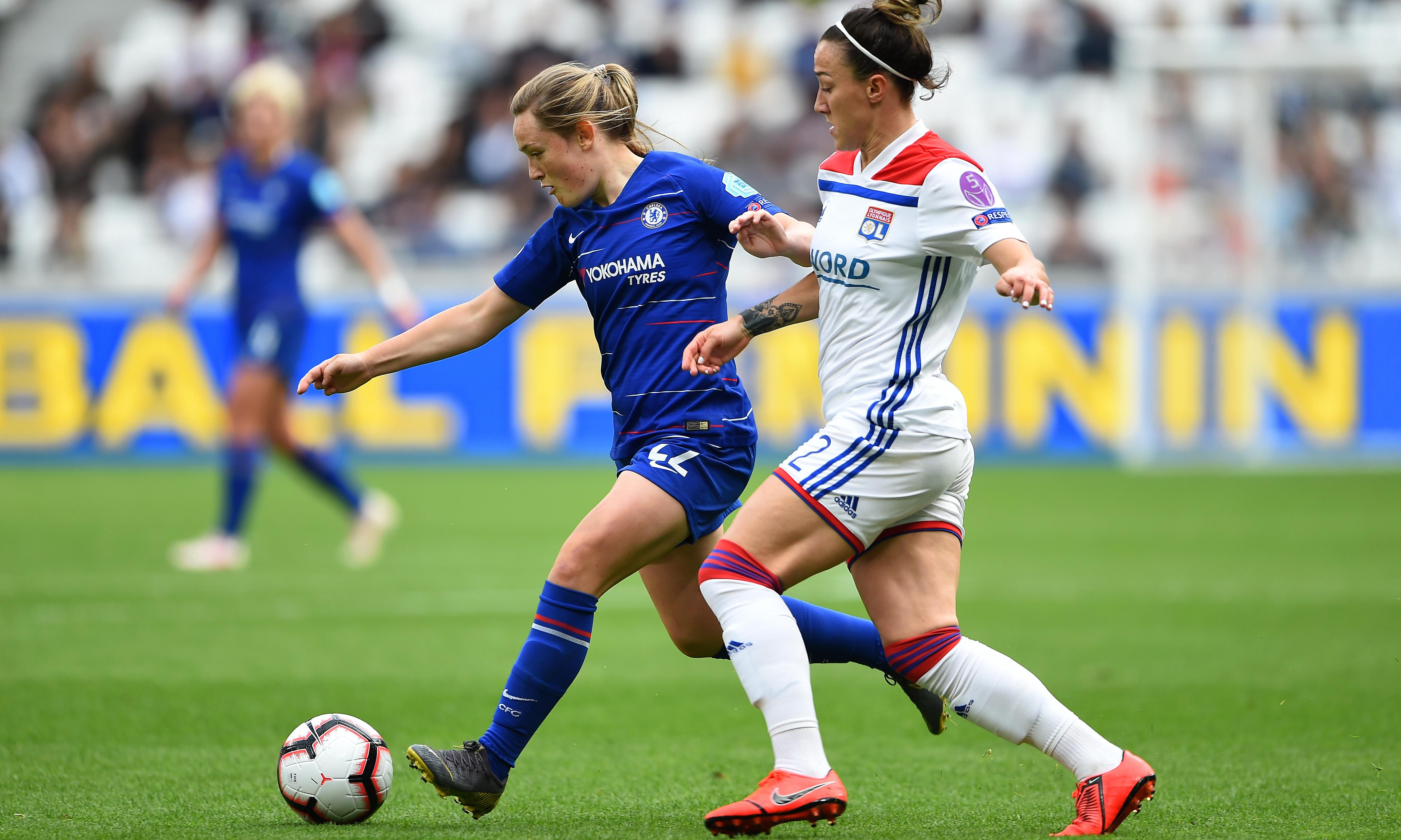 Lucy Bronze disappointed Lyon 'just won' first leg against Chelsea