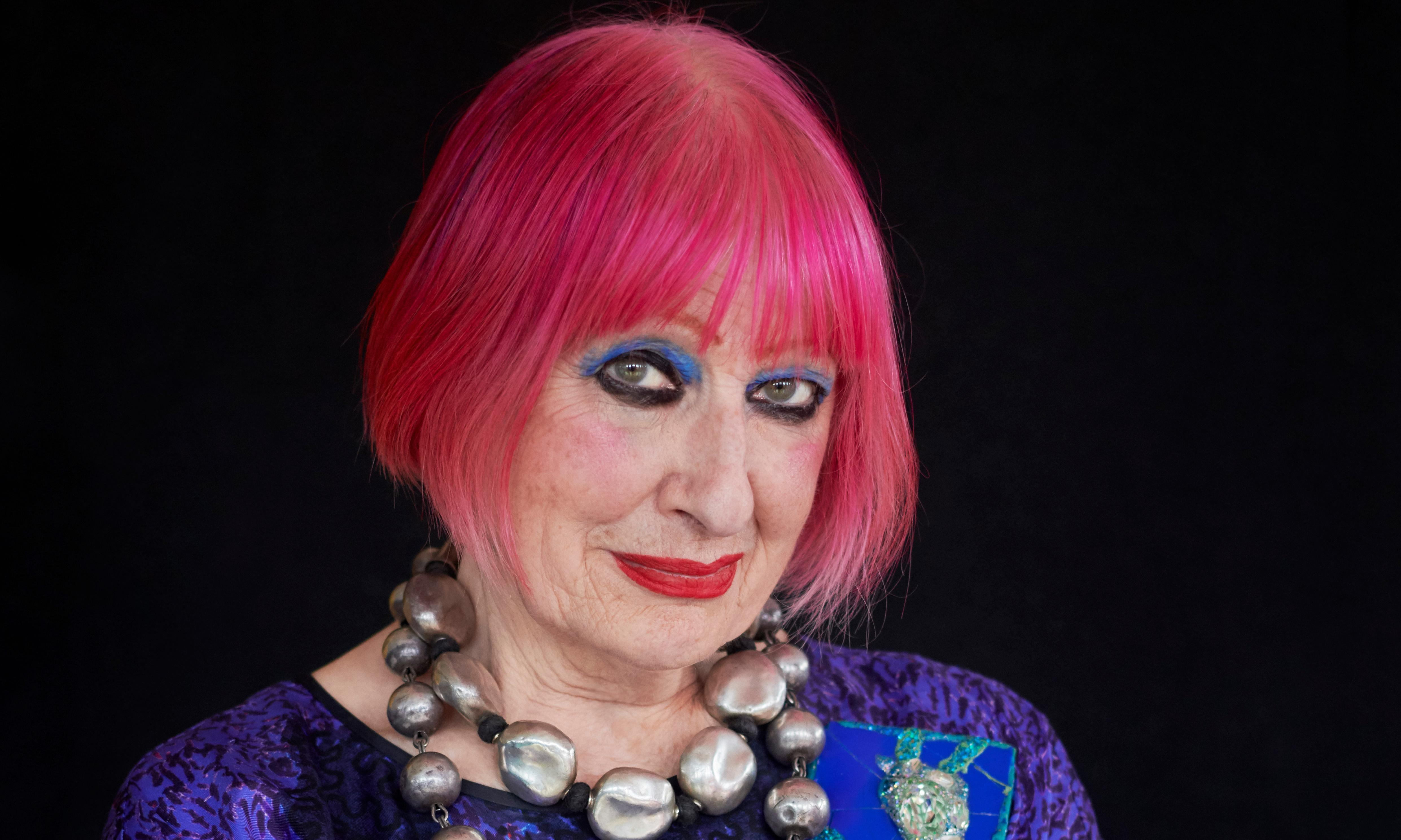 Zandra Rhodes: 'Fashion deserves credit. It takes as much effort as a painting'
