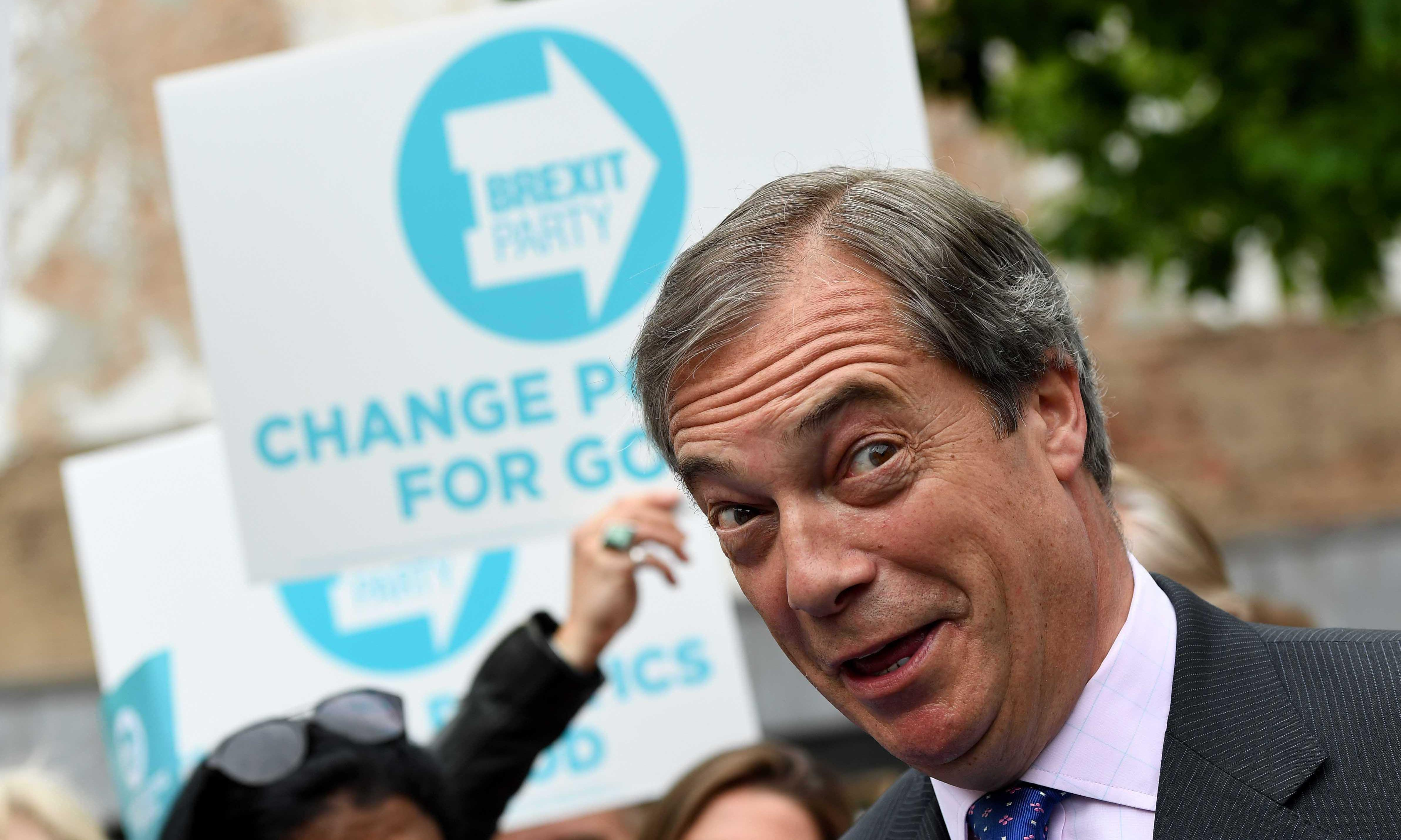 Pro- and anti-Brexit parties neck and neck in EU election, says poll