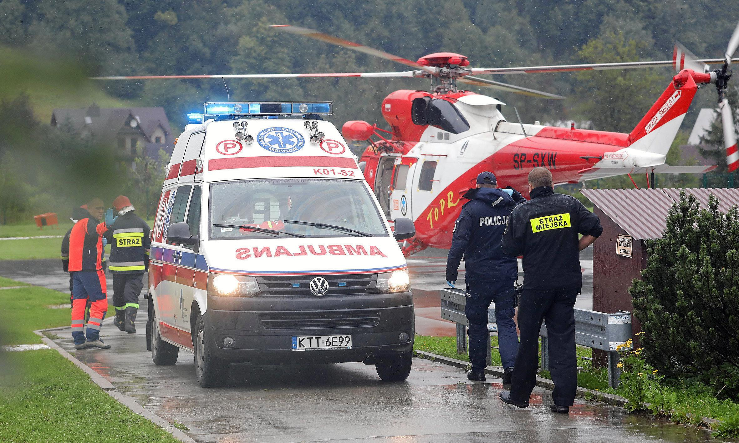 Lightning strikes kill five and injure 100 in Poland and Slovakia