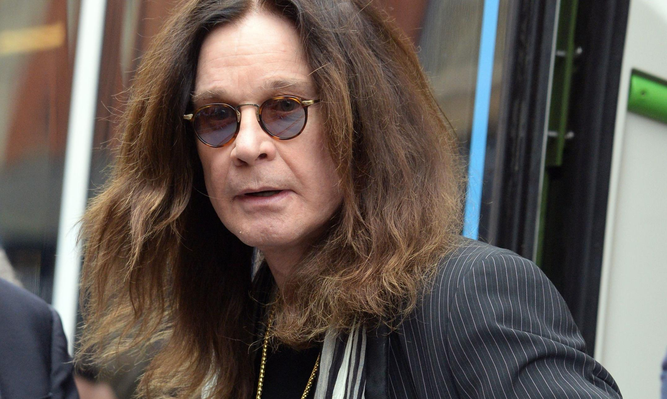 Ozzy Osbourne reveals Parkinson's diagnosis