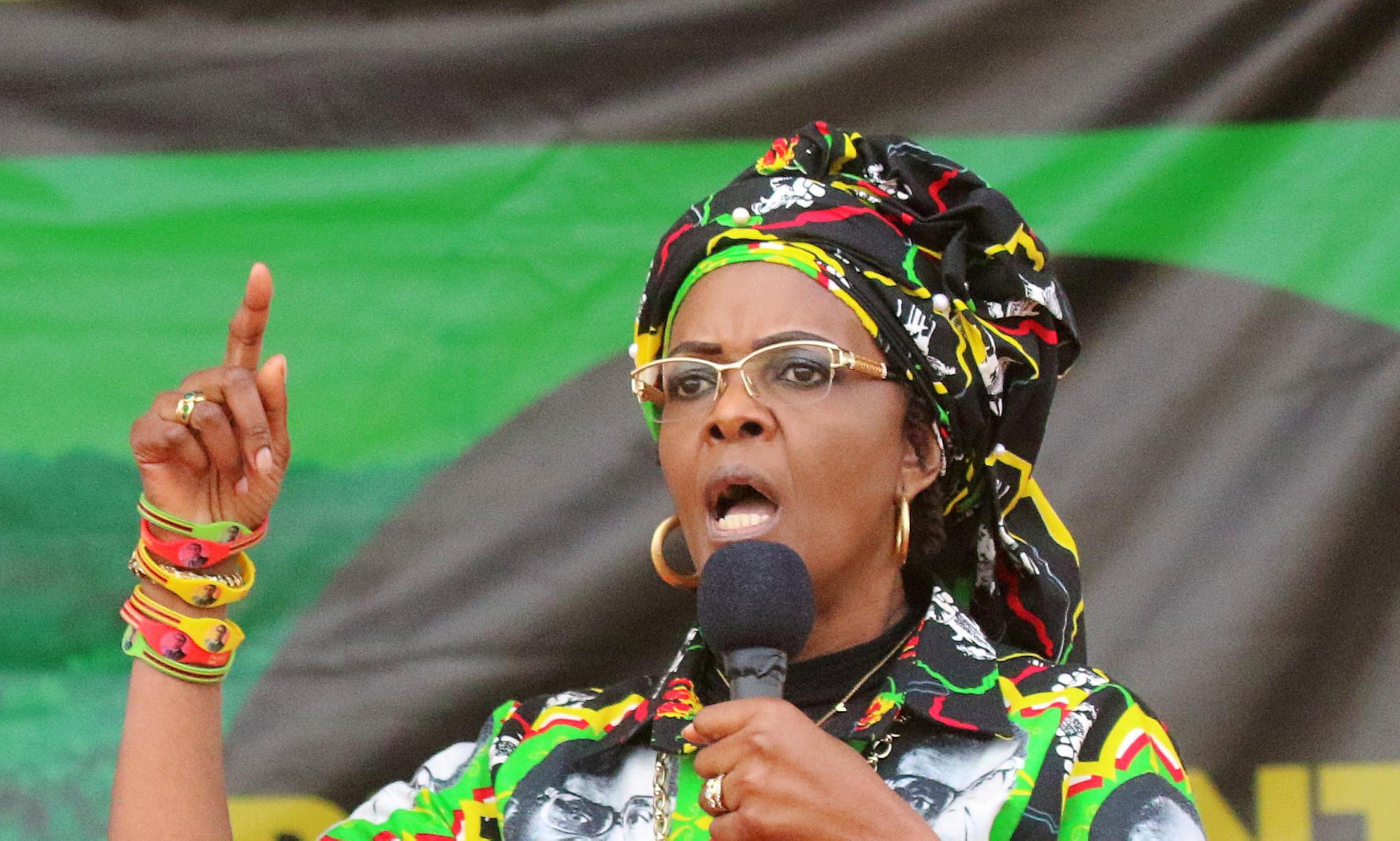Grace Mugabe: Zimbabwe asks for diplomatic immunity after alleged assault