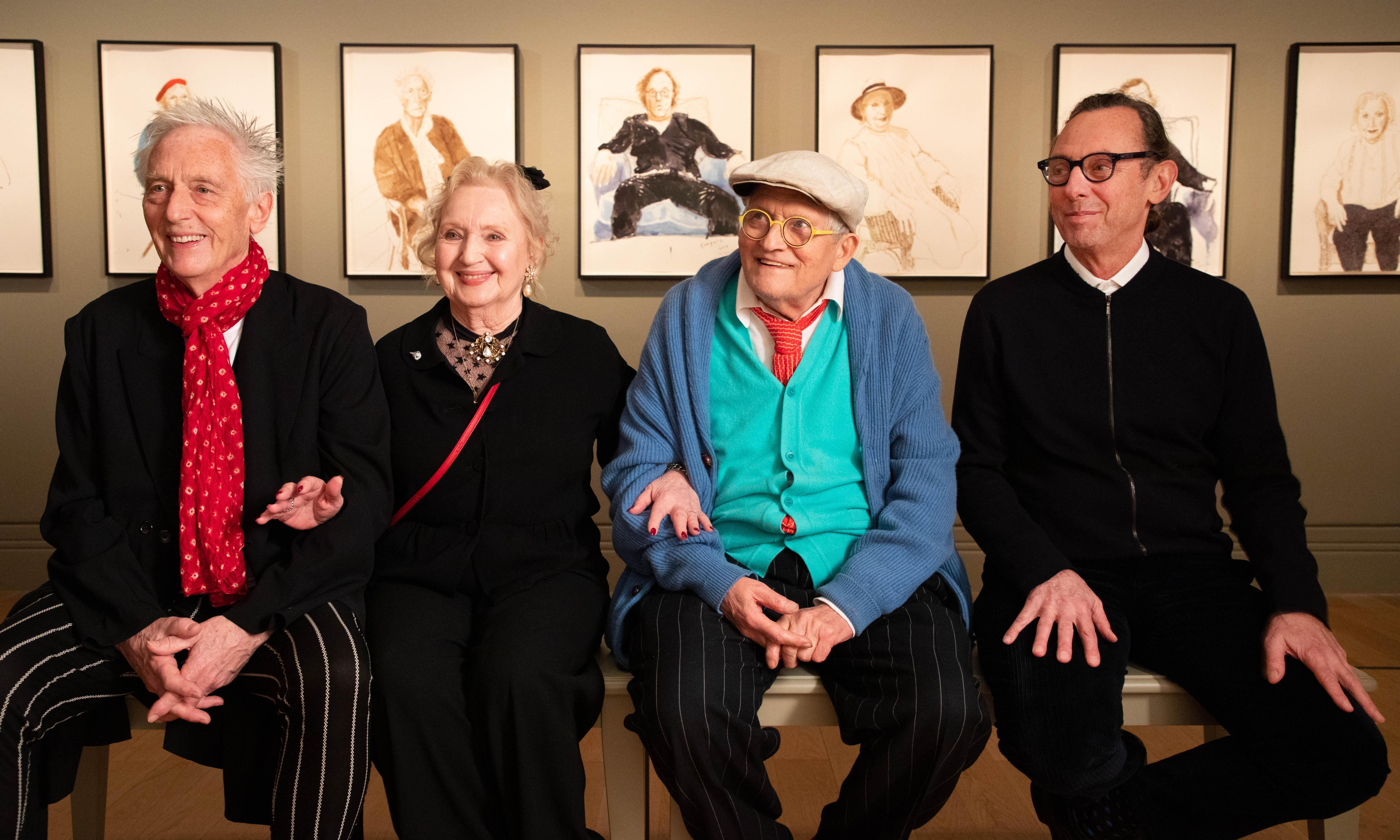 'It's horrible!': Hockney muse recoils at portrait of her as older woman