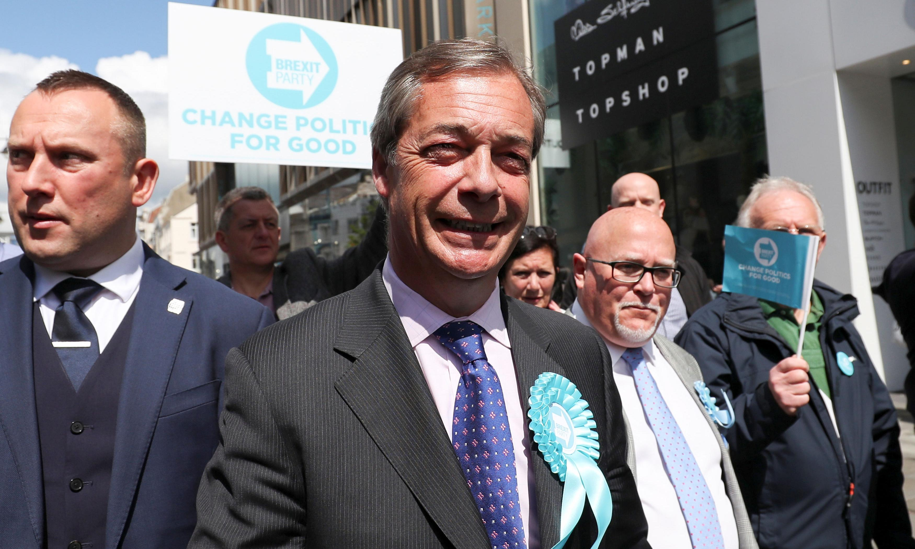Electoral Commission to visit Brexit party offices over funding concerns