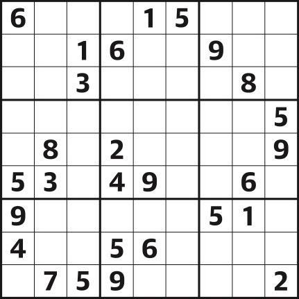 Sudoku 4440 medium