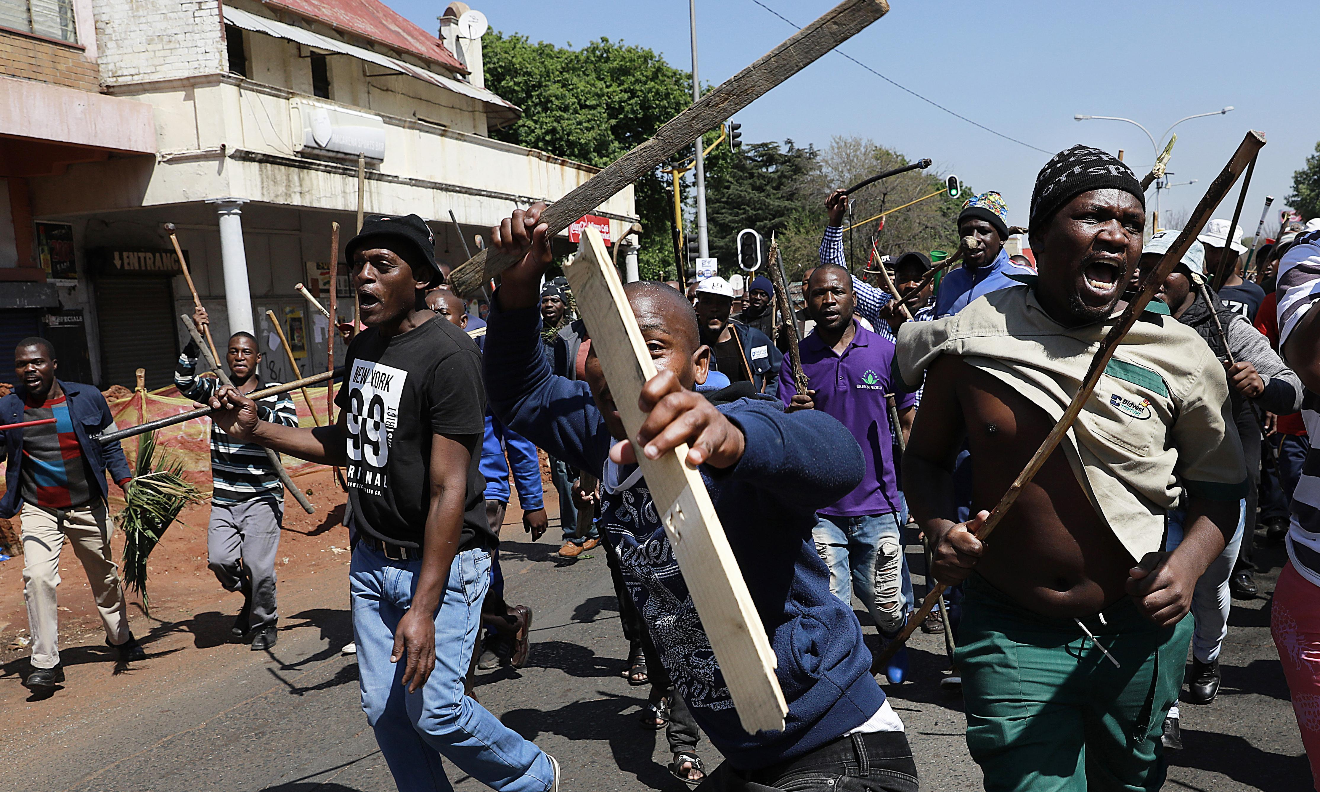 'We are a target': wave of xenophobic attacks sweeps Johannesburg