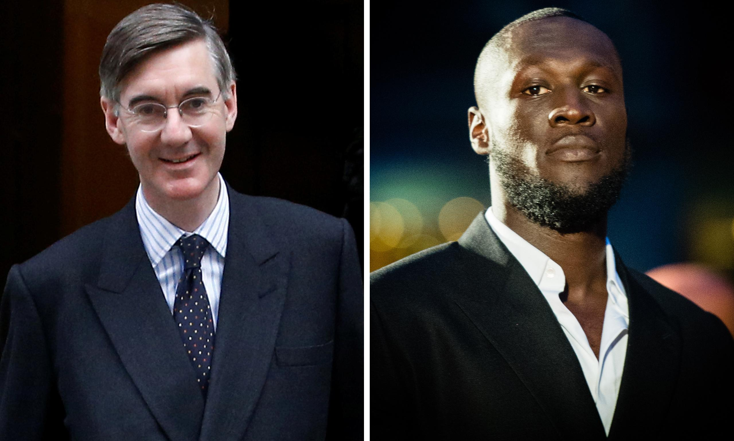 Stormzy joins backlash against Rees-Mogg over Grenfell apology