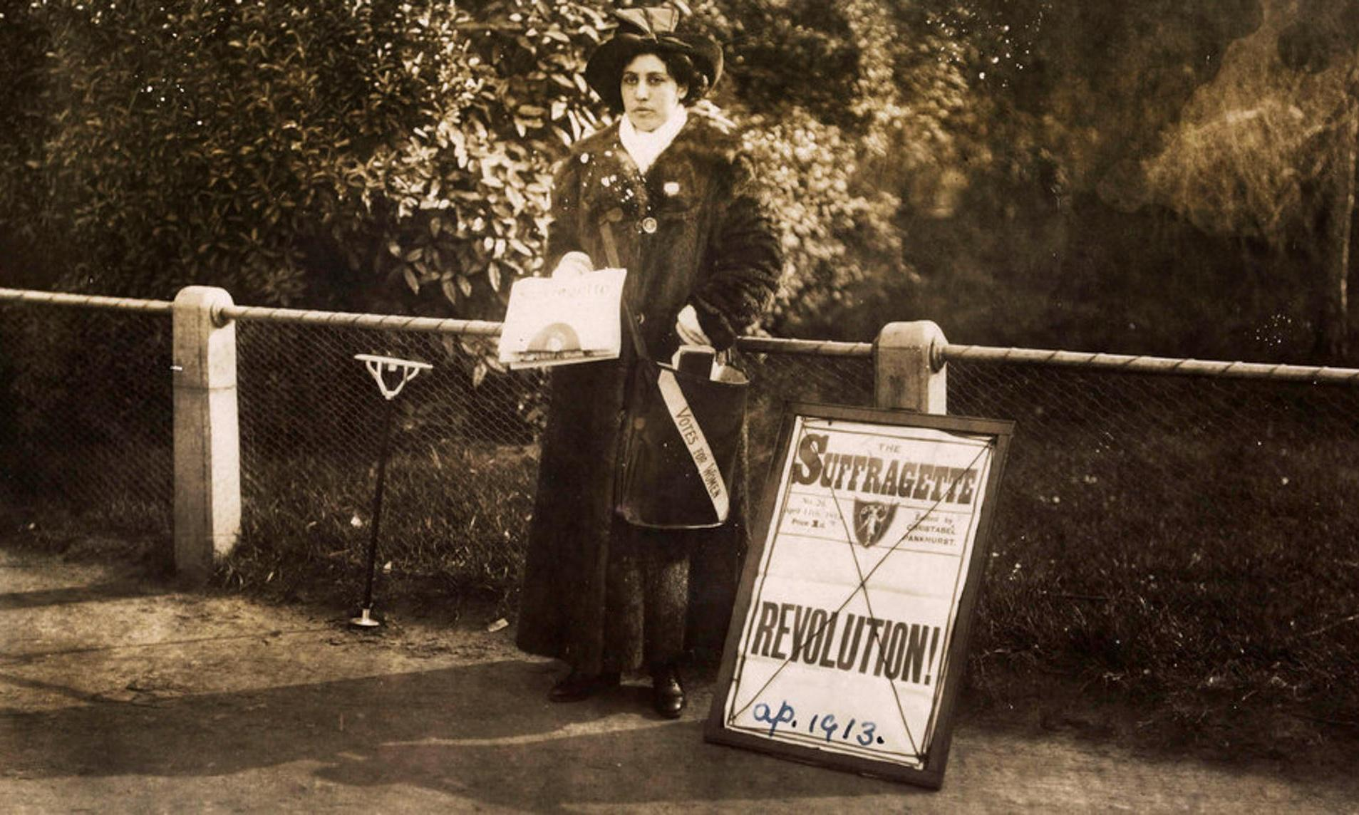 Police files on Queen Victoria's suffragette goddaughter to go on display