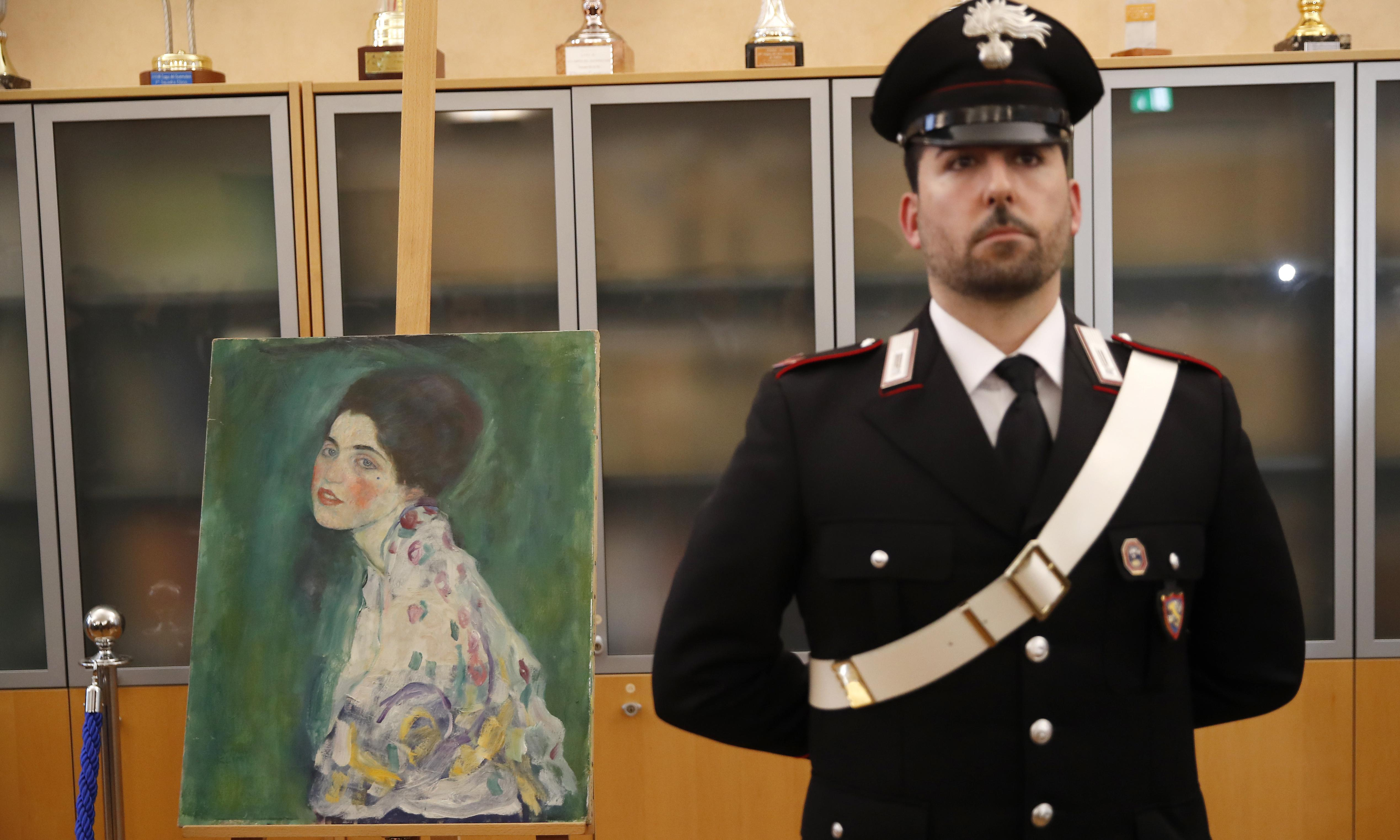 Klimt art thieves confess to stealing then returning painting