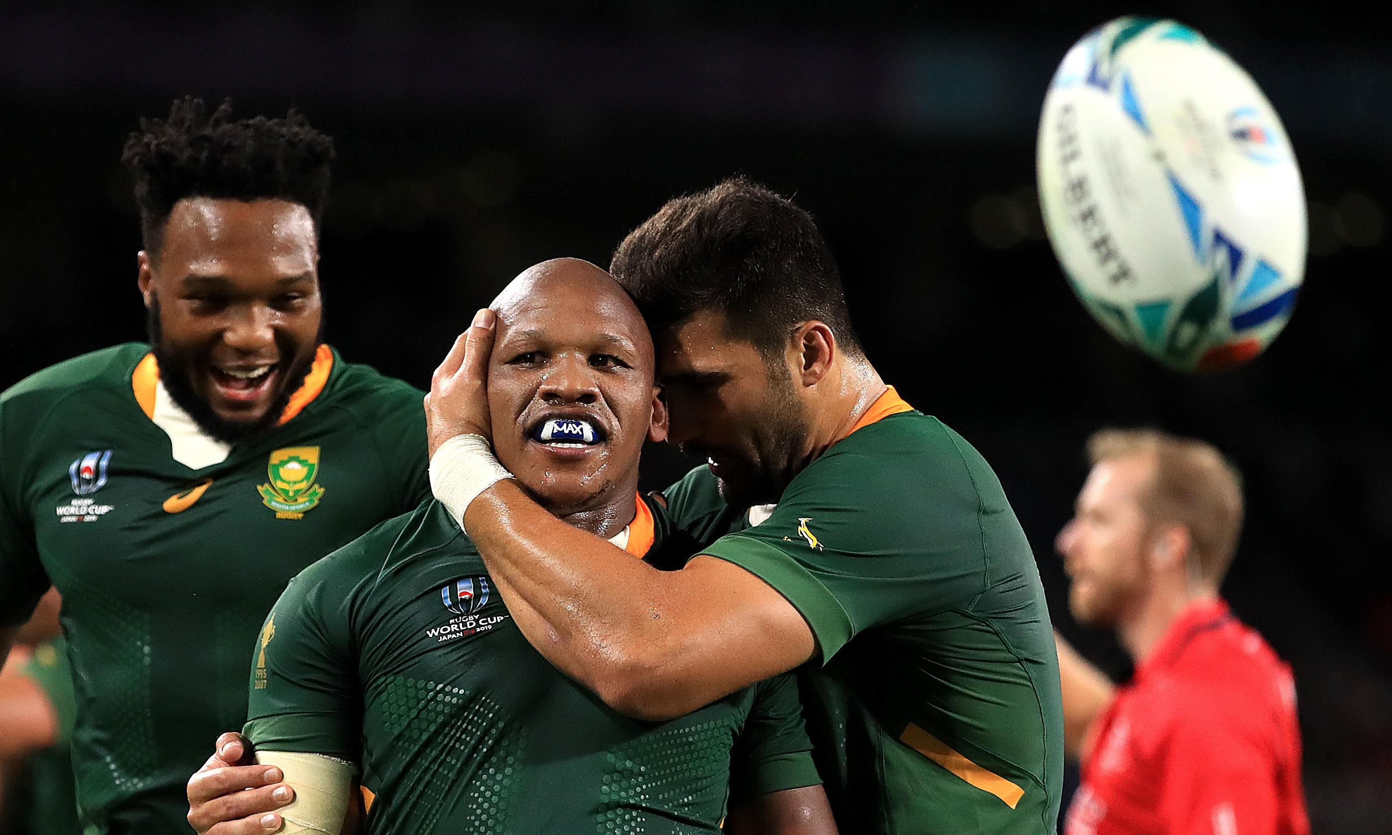 'Skin colour does not matter': Bongi Mbonambi on the new Springboks