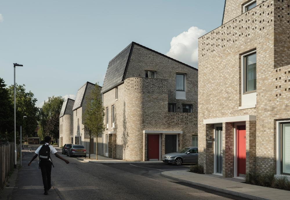Goldsmith Street social housing in Norwich by Mikhail Riches and Cathy Hawley won the 2019 Stirling prize