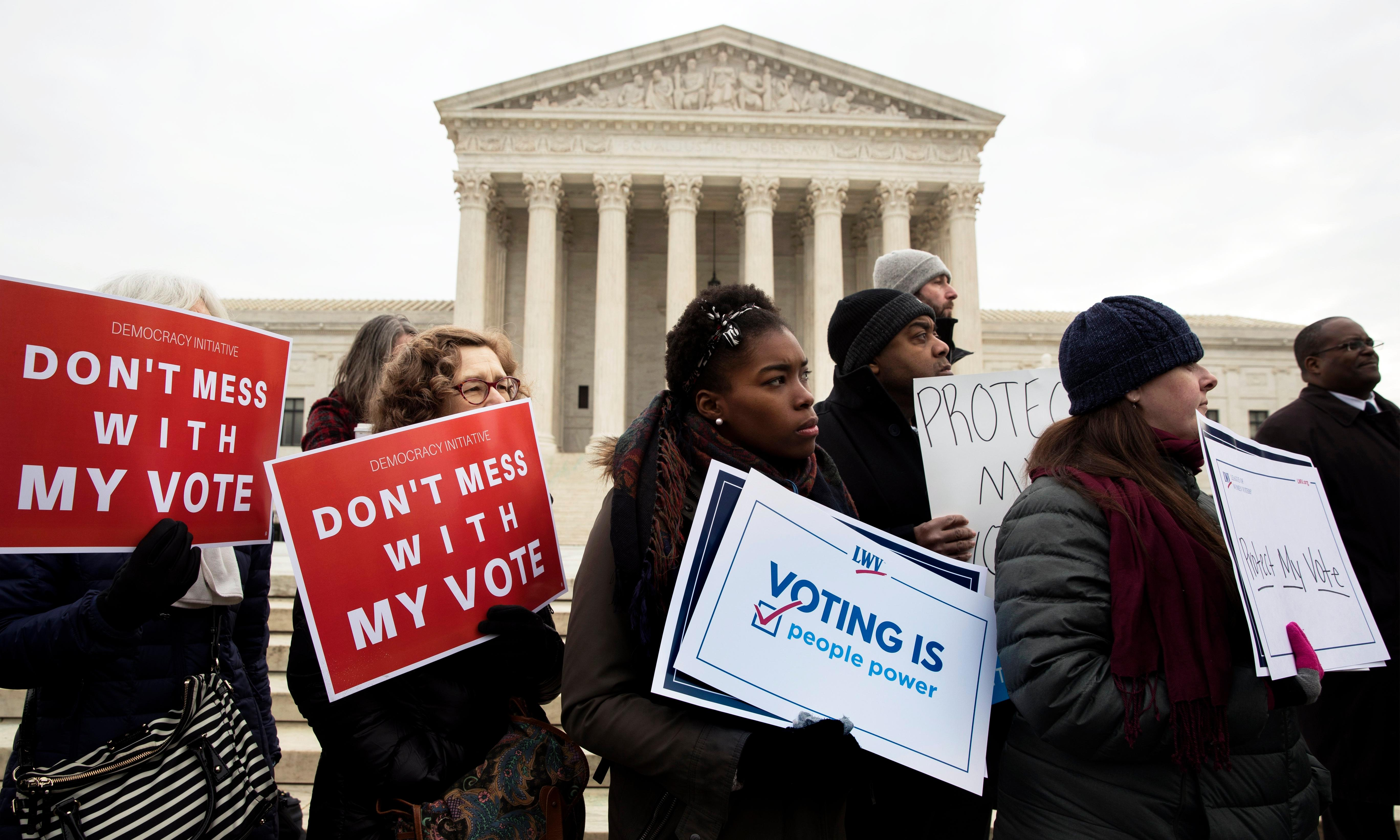 Alarm over voter purges as 17m Americans removed from rolls in two years