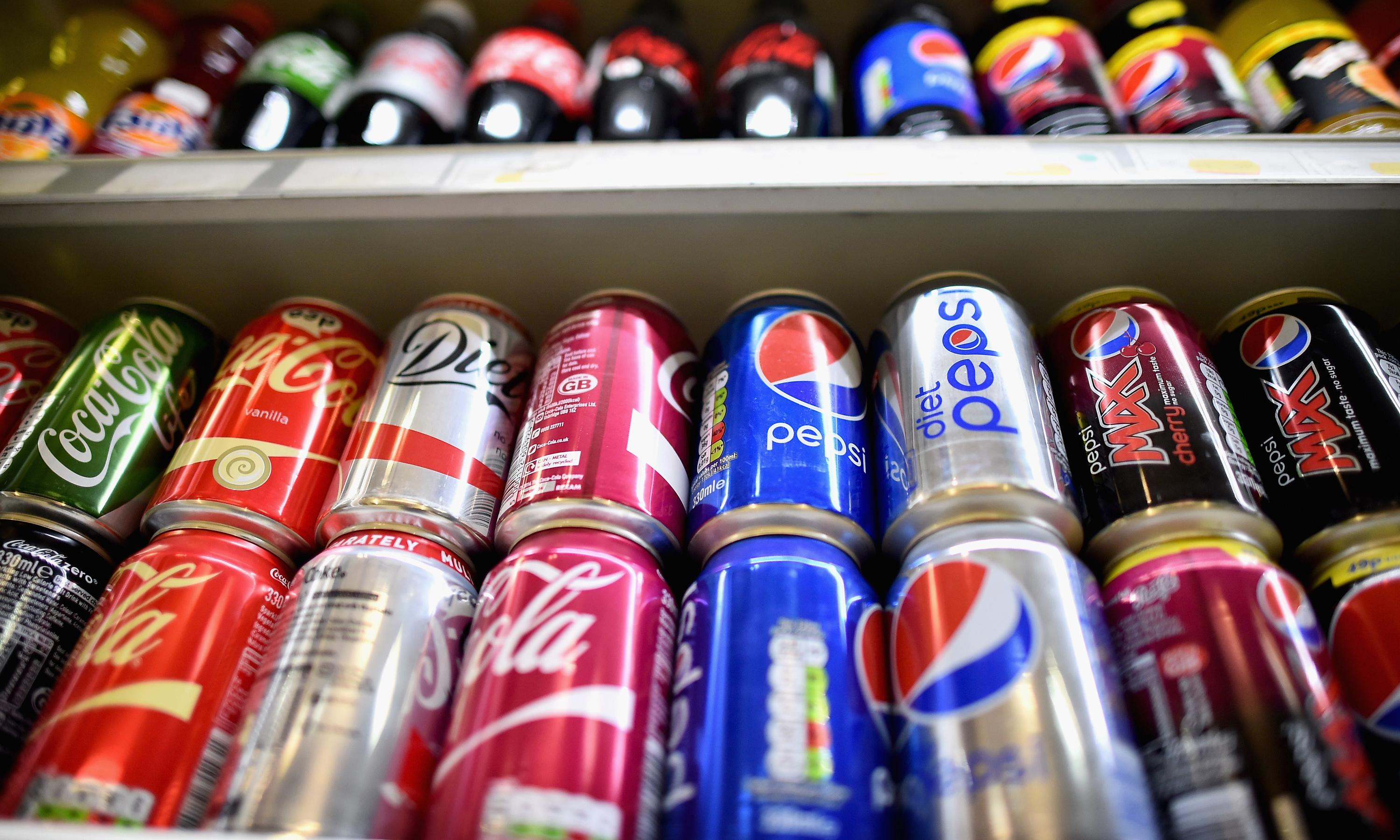 Soft drinks, including sugar-free, linked to increased risk of early death