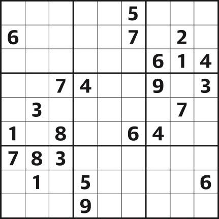 Sudoku 4,301 hard