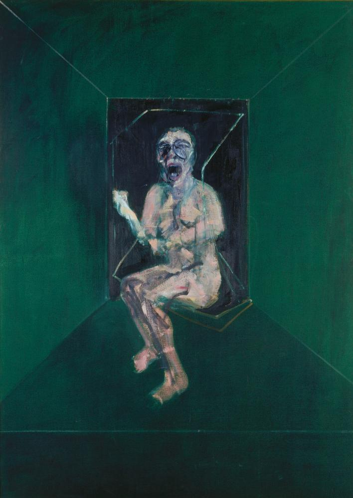 'A horrifying perpetuum mobile': Study for the Nurse in Battleship Potemkin, 1957 by Francis Bacon.