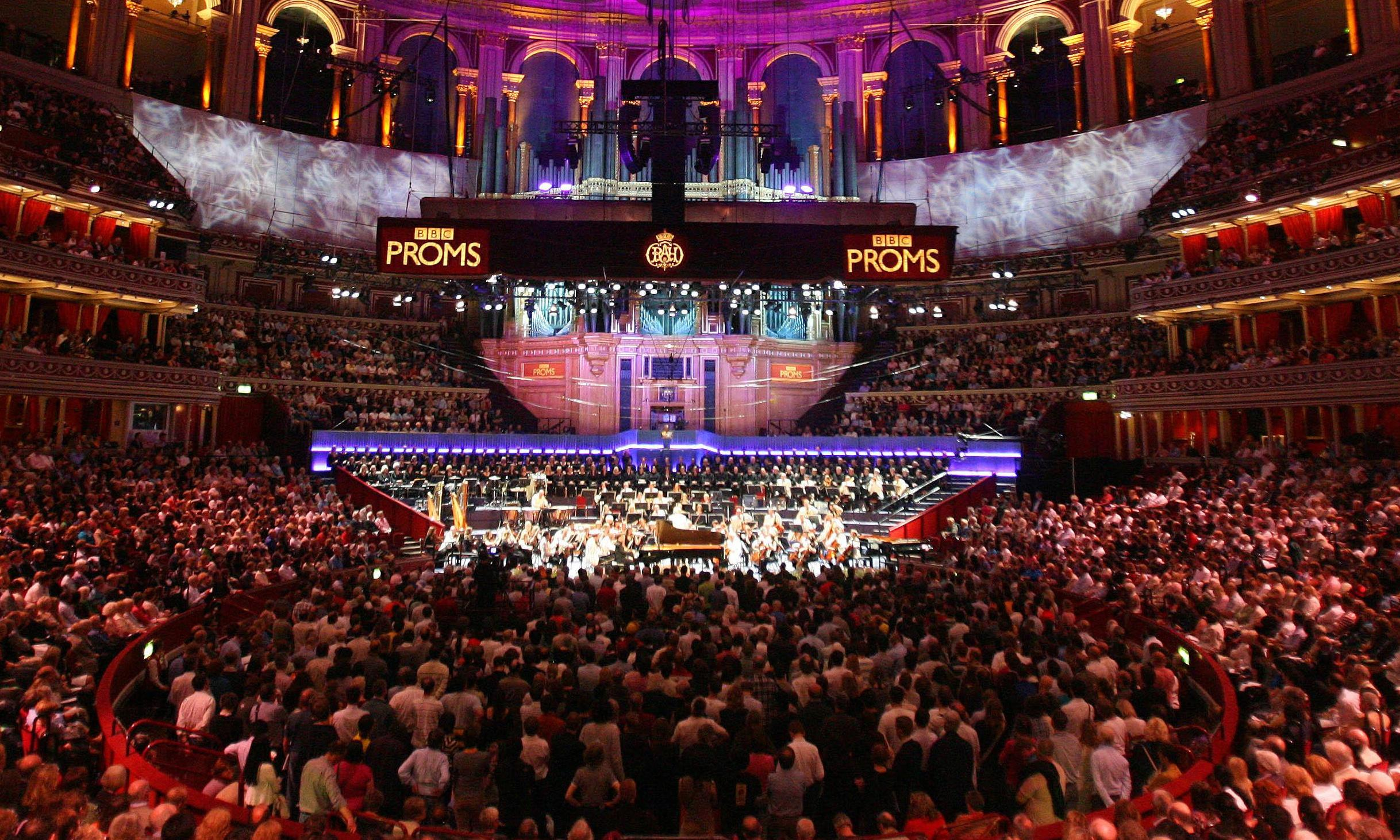 Proms in the dark: meditative music at the Royal Albert Hall