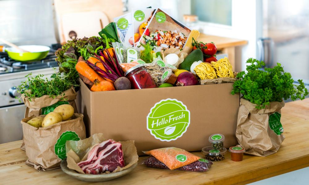 'Gourmet' food kits such as Hello Fresh are growing in popularity, Waitrose said.