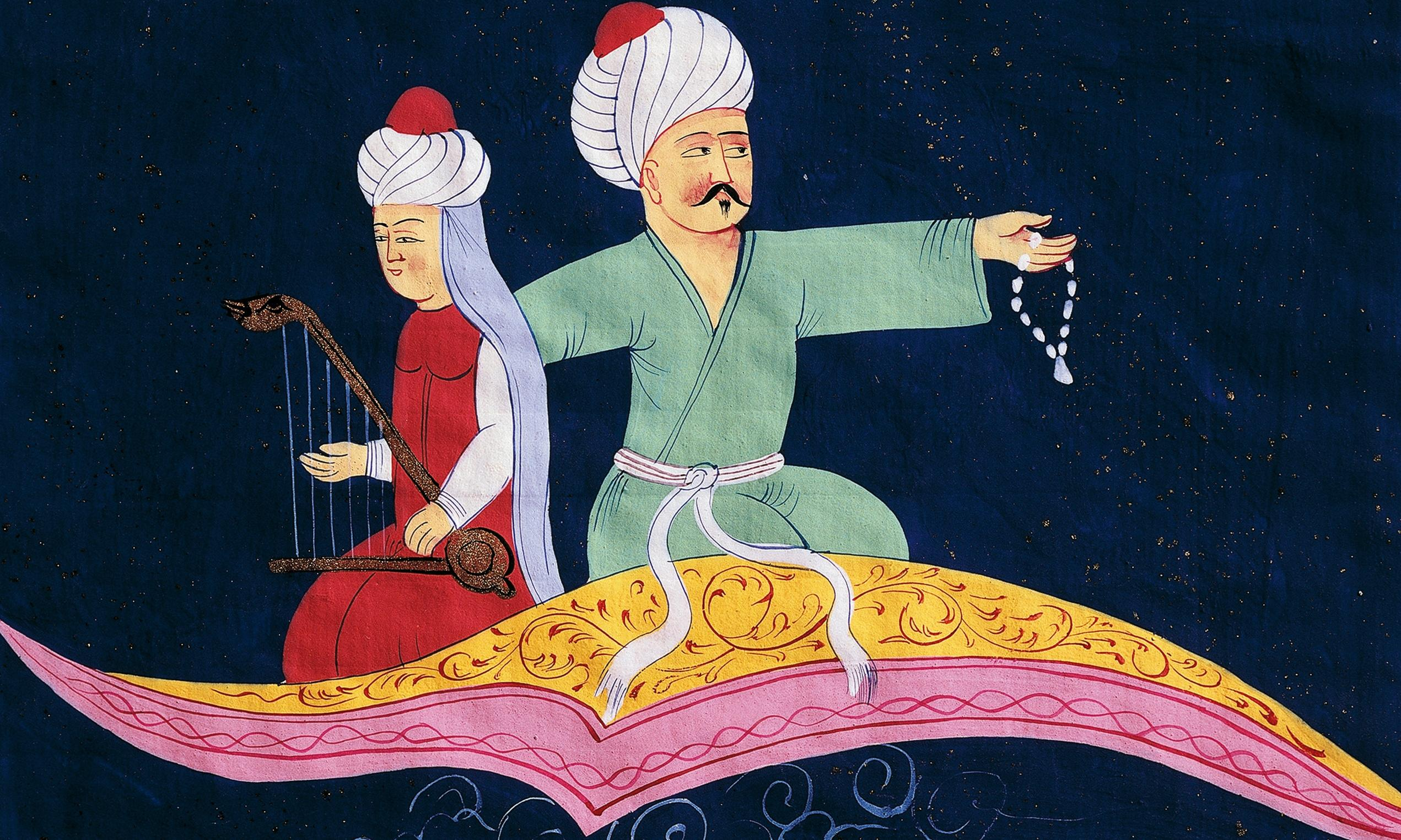 How Aladdin's story was forged in Aleppo and Versailles