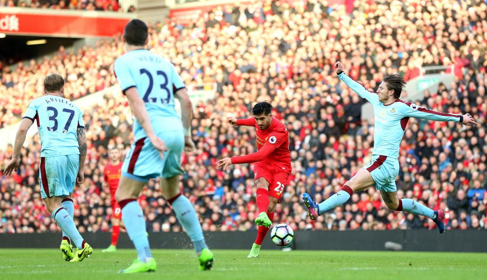 Can scores Liverpool's second.