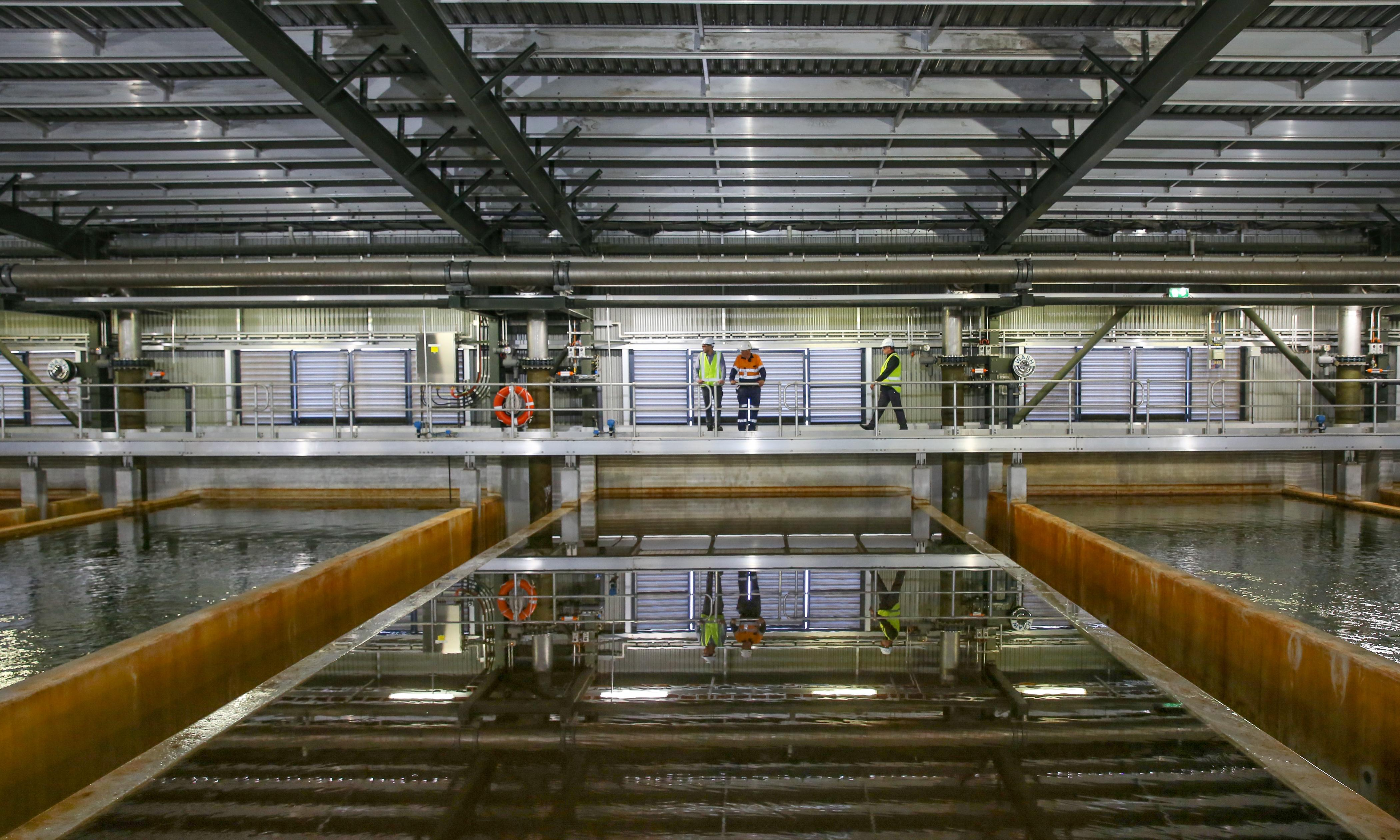 Sydney desalination plant to double in size as dams approach critical level
