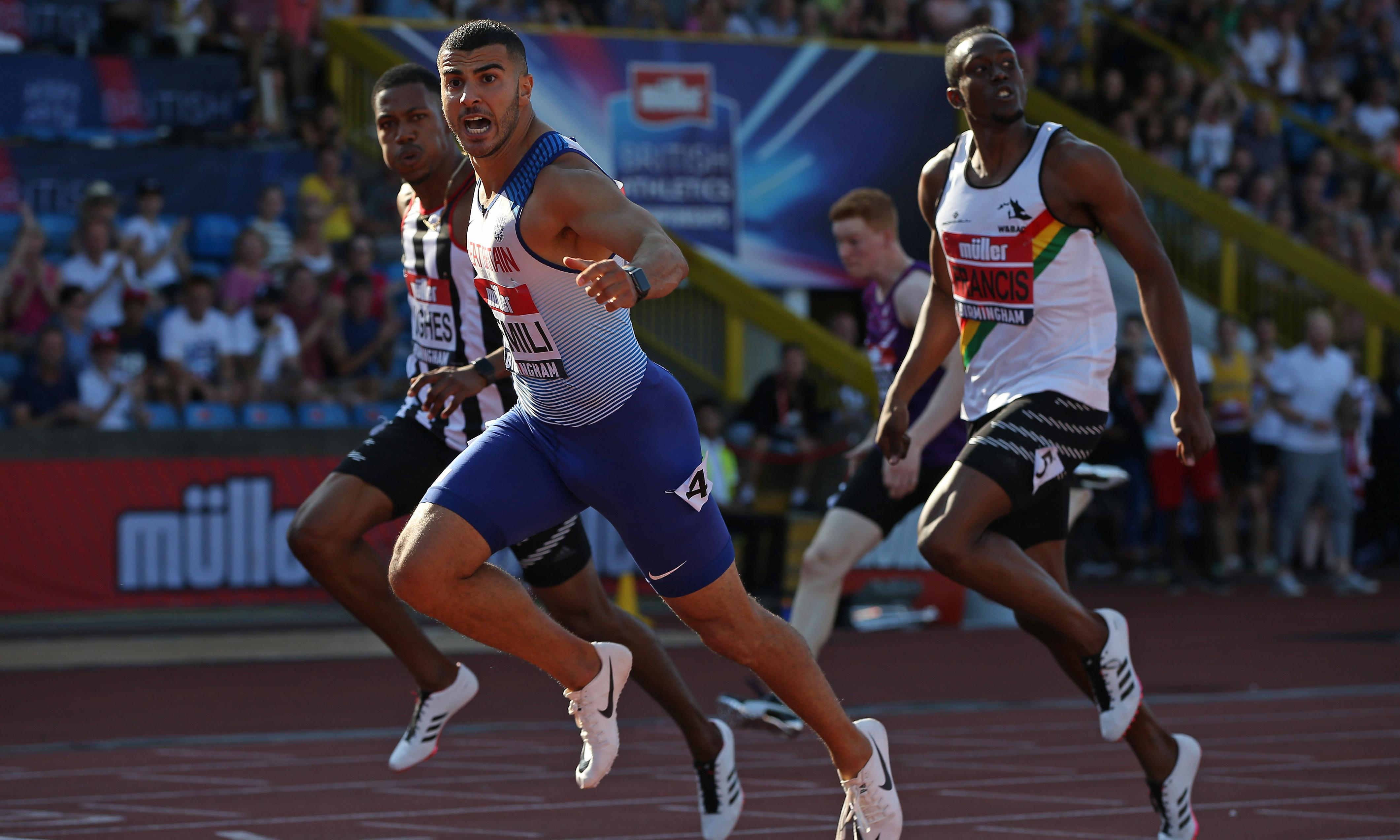 Adam Gemili takes aim at doubters after record-breaking 200m win