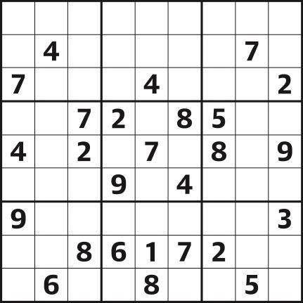 Sudoku 4,362 hard