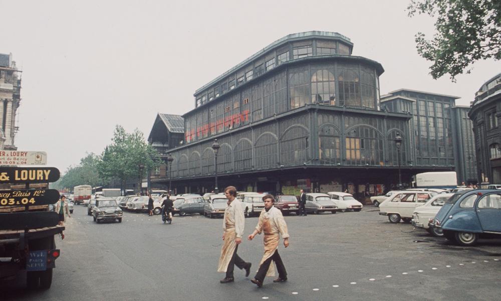 Les Halles in 1969