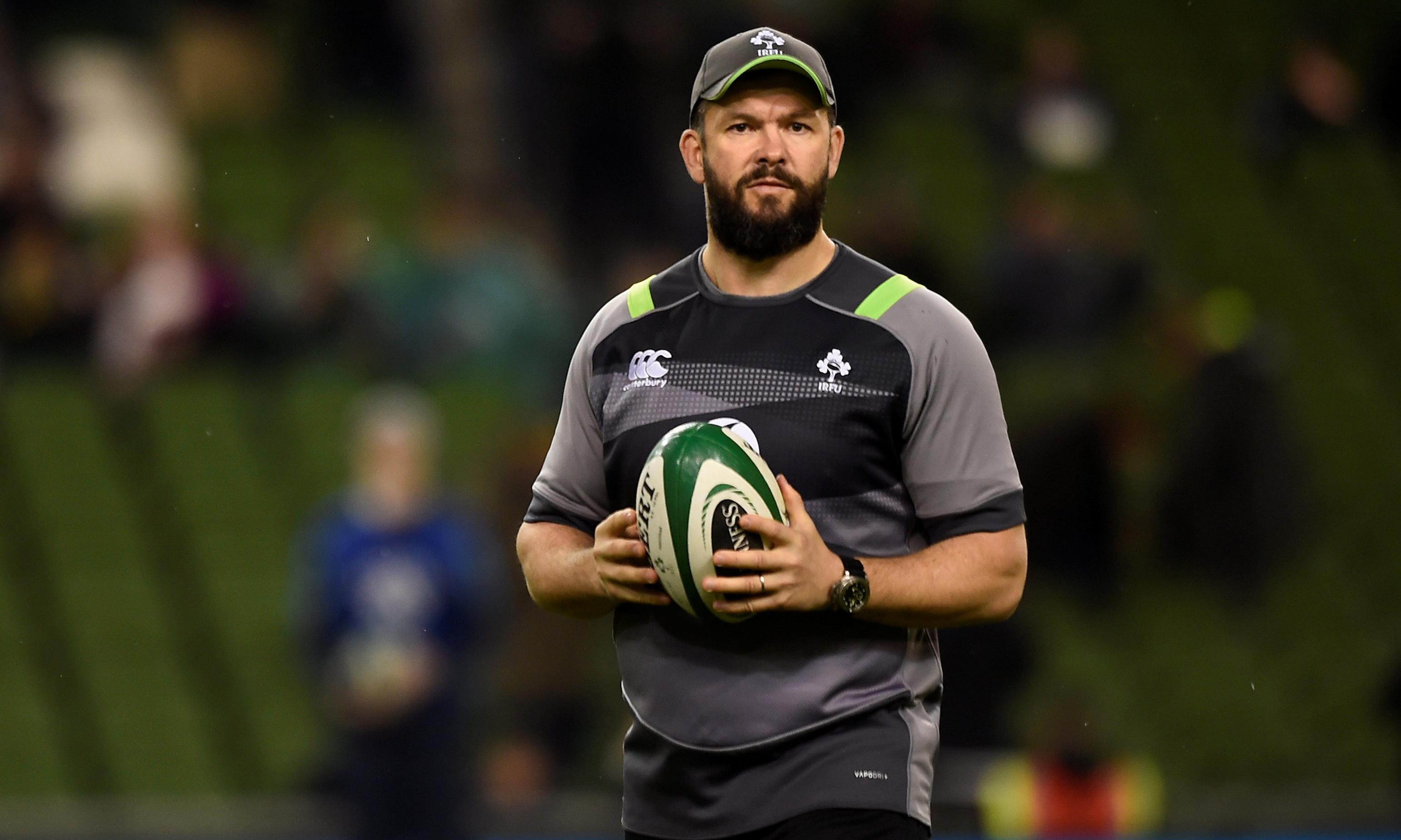 Andy Farrell says succeeding Joe Schmidt will be his greatest challenge