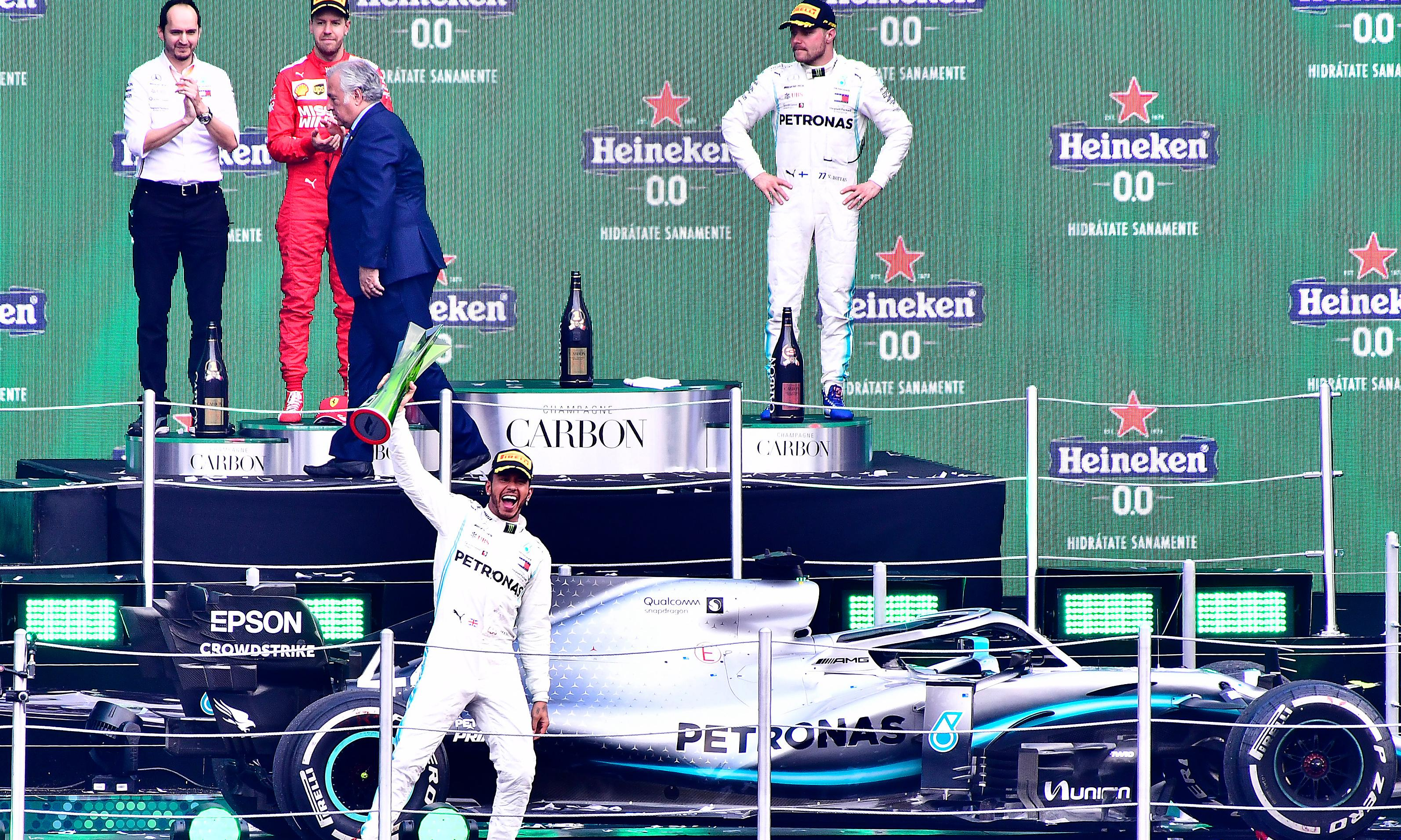 Lewis Hamilton says he will keep giving Max Verstappen plenty of space