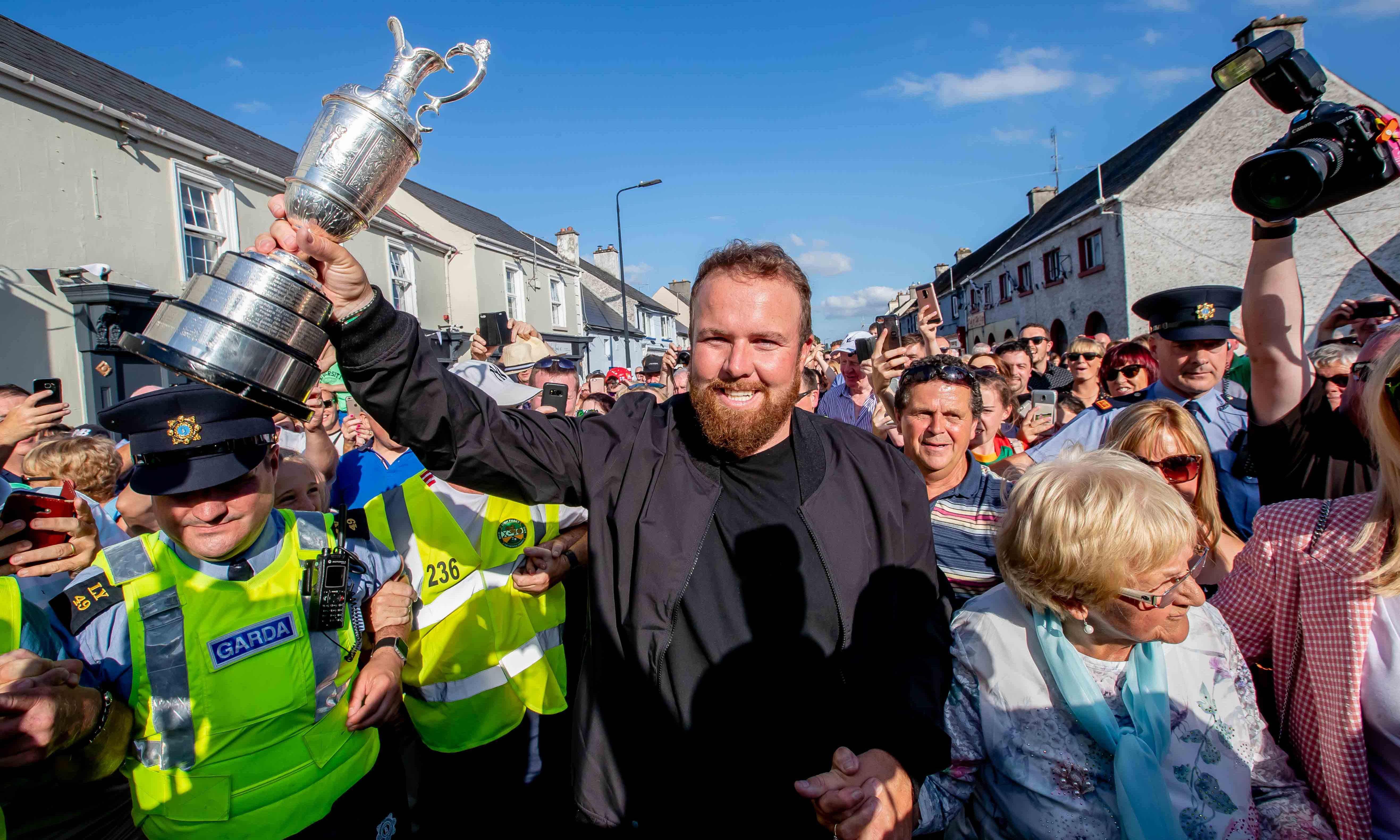 Open winner Shane Lowry warns rivals: 'I feel like I can beat anyone now'