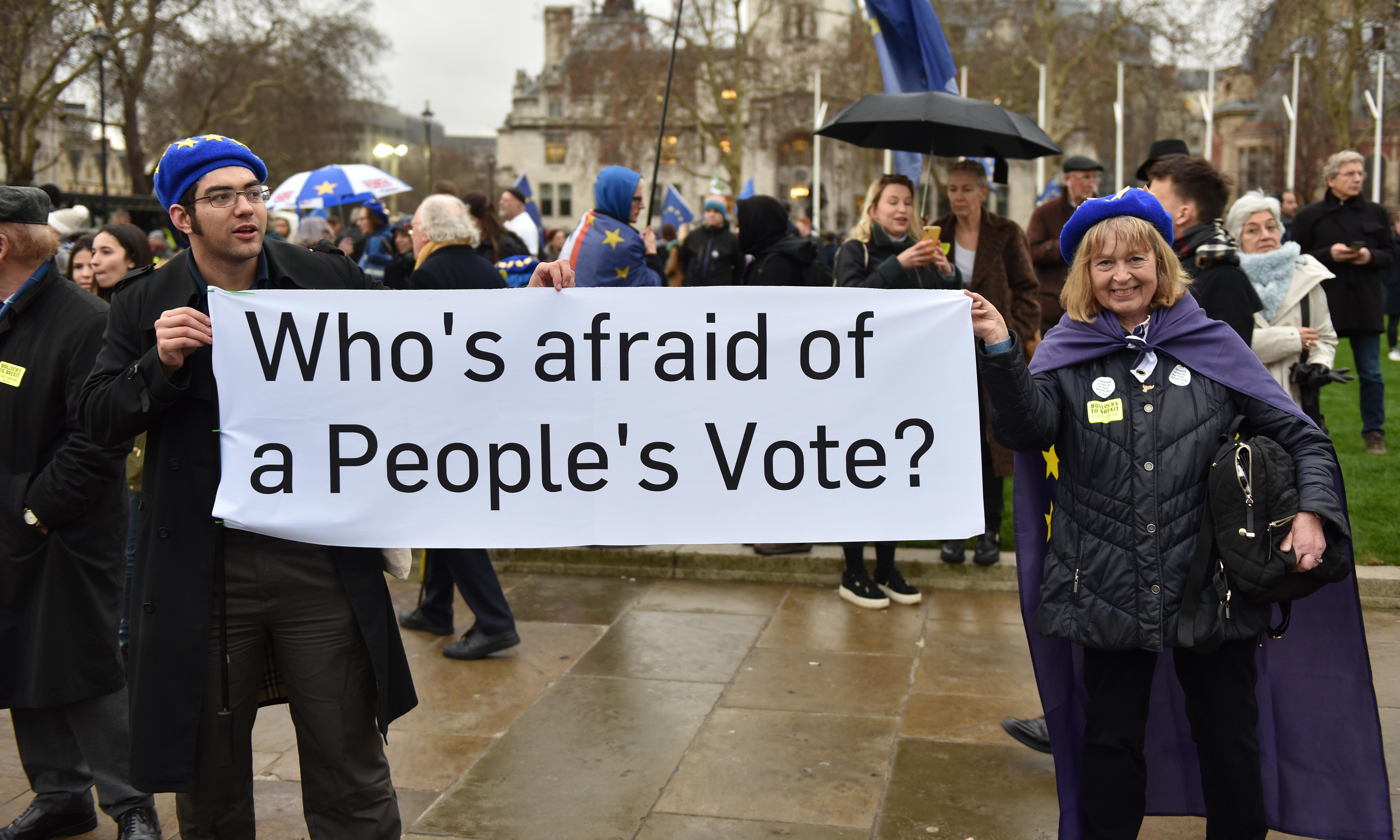 Arrogant remainers want a second vote. That would be a bad day for democracy
